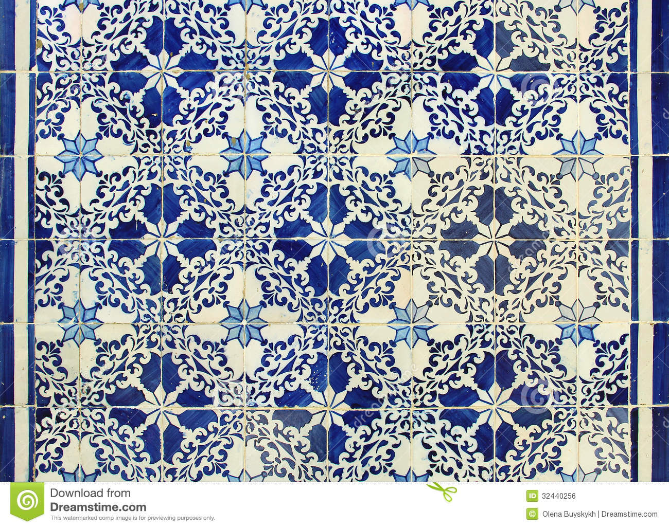 Portuguese Azulejos Tiles Stock Photo Image Of Porto