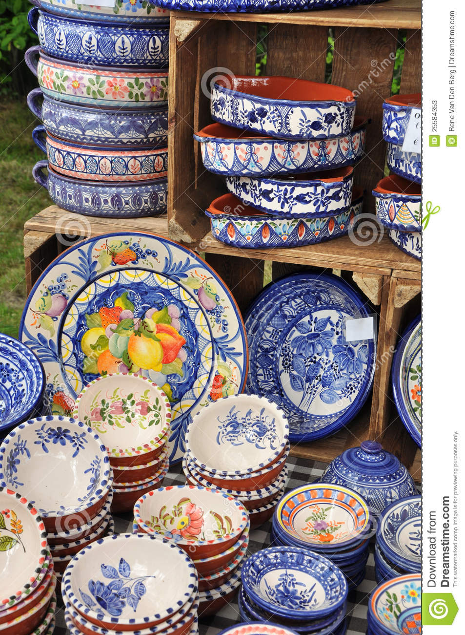 Portuguese Ceramics Stock Image Image Of Culture Decor