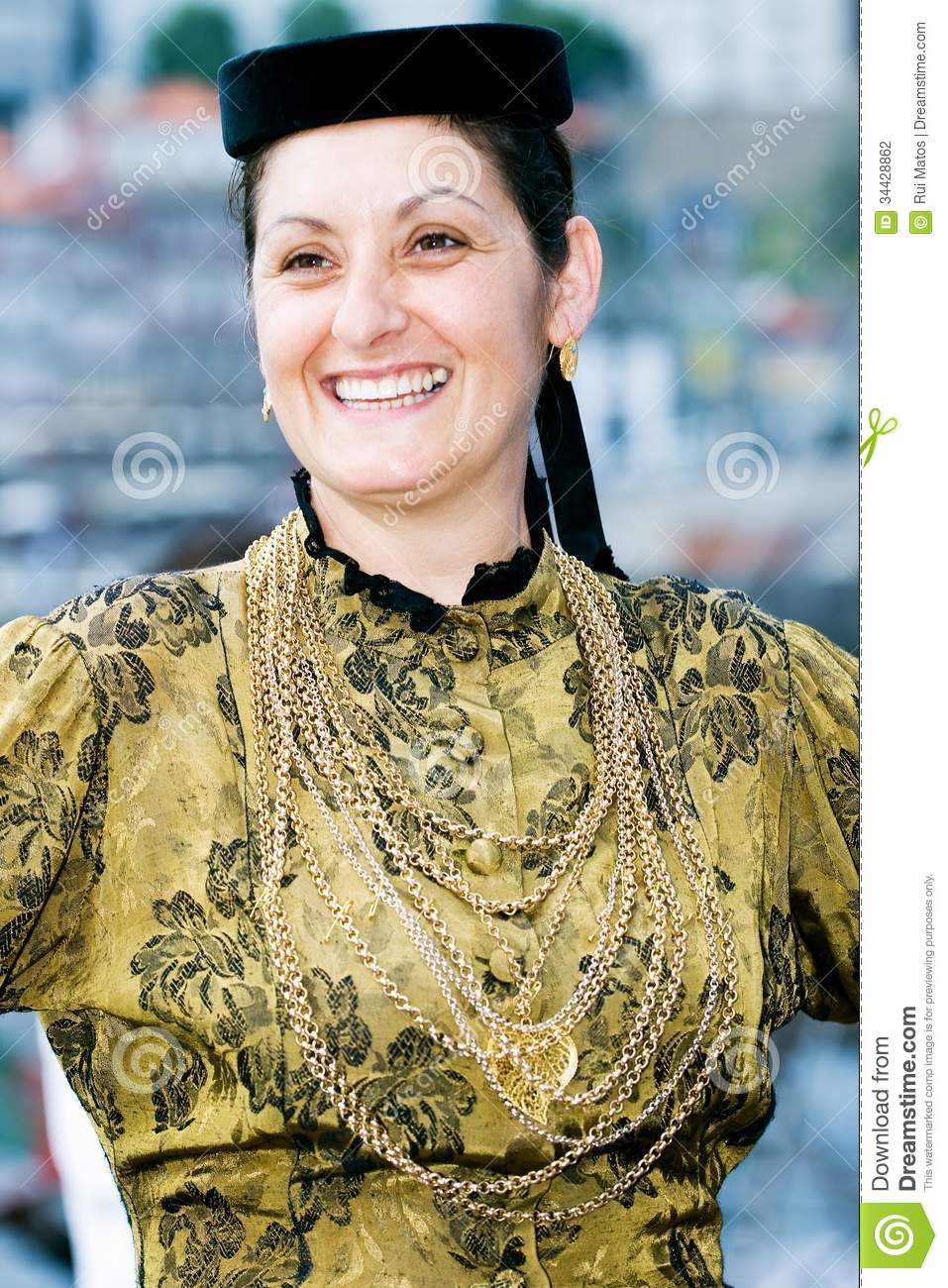 Stock Photography Portuguese Folklore Dancer Image 34428862