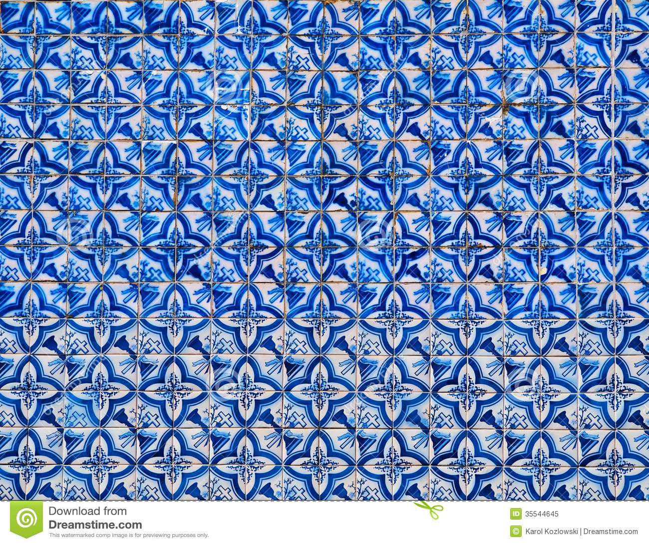 Portuguese Tiles Royalty Free Stock Photo Image 35544645