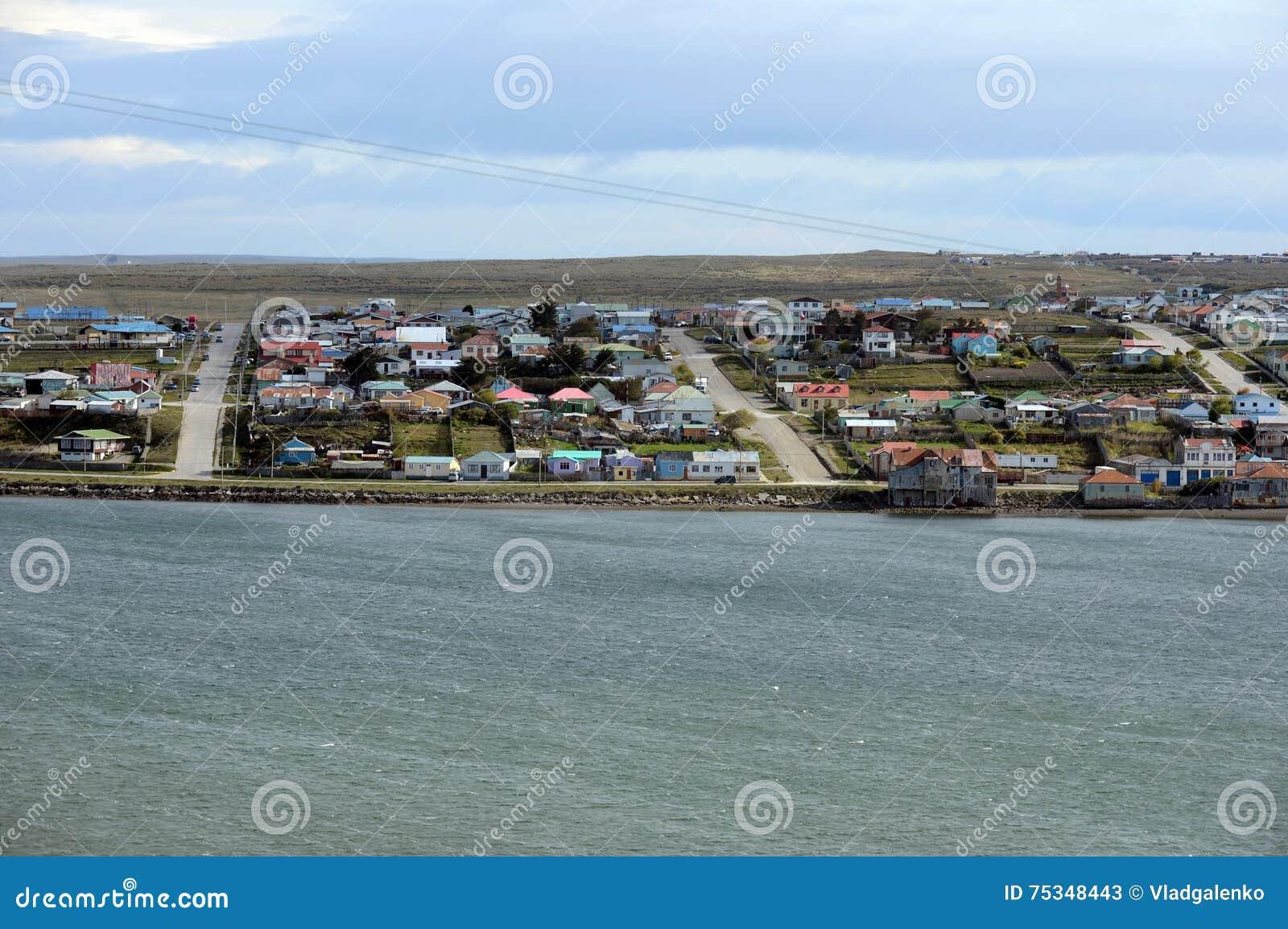 Porvenir est un village au Chili sur l île de Tierra del Fuego