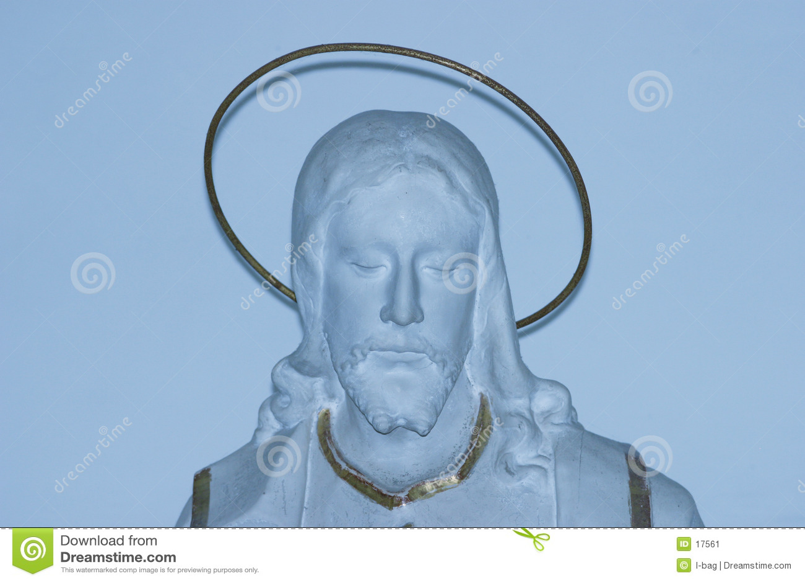 Posąg chrystusa