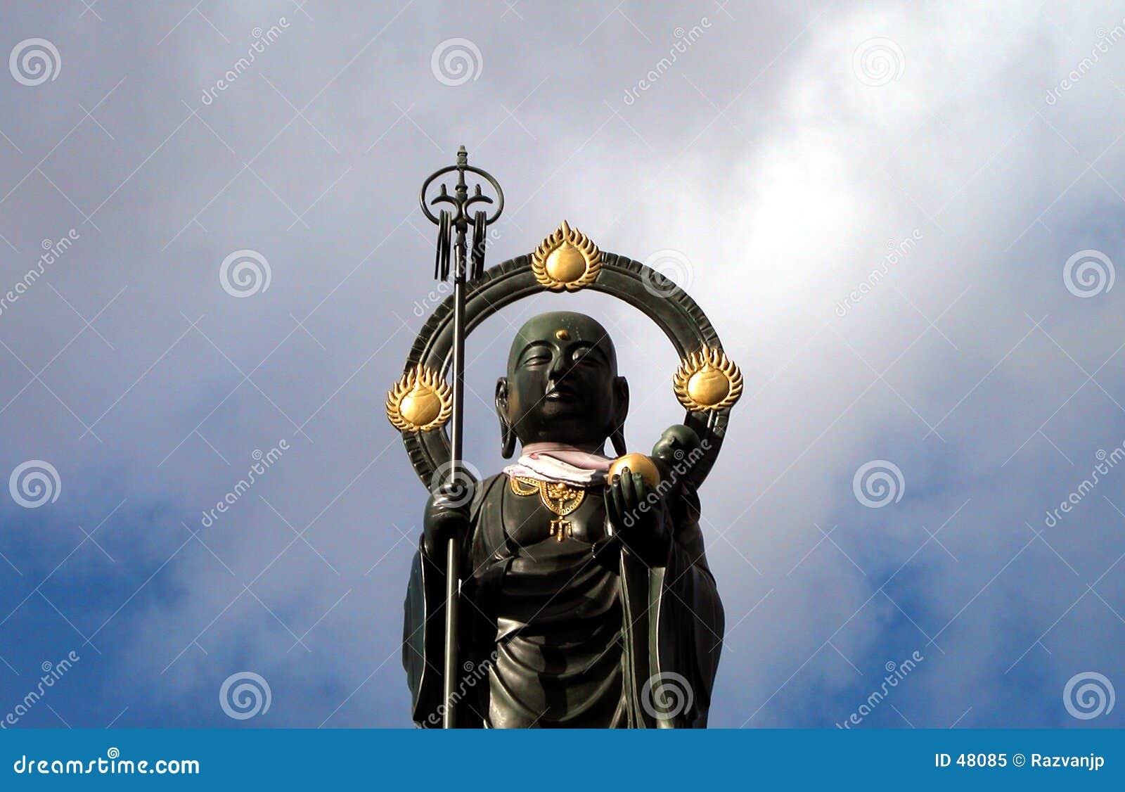 Posąg buddy szczególne