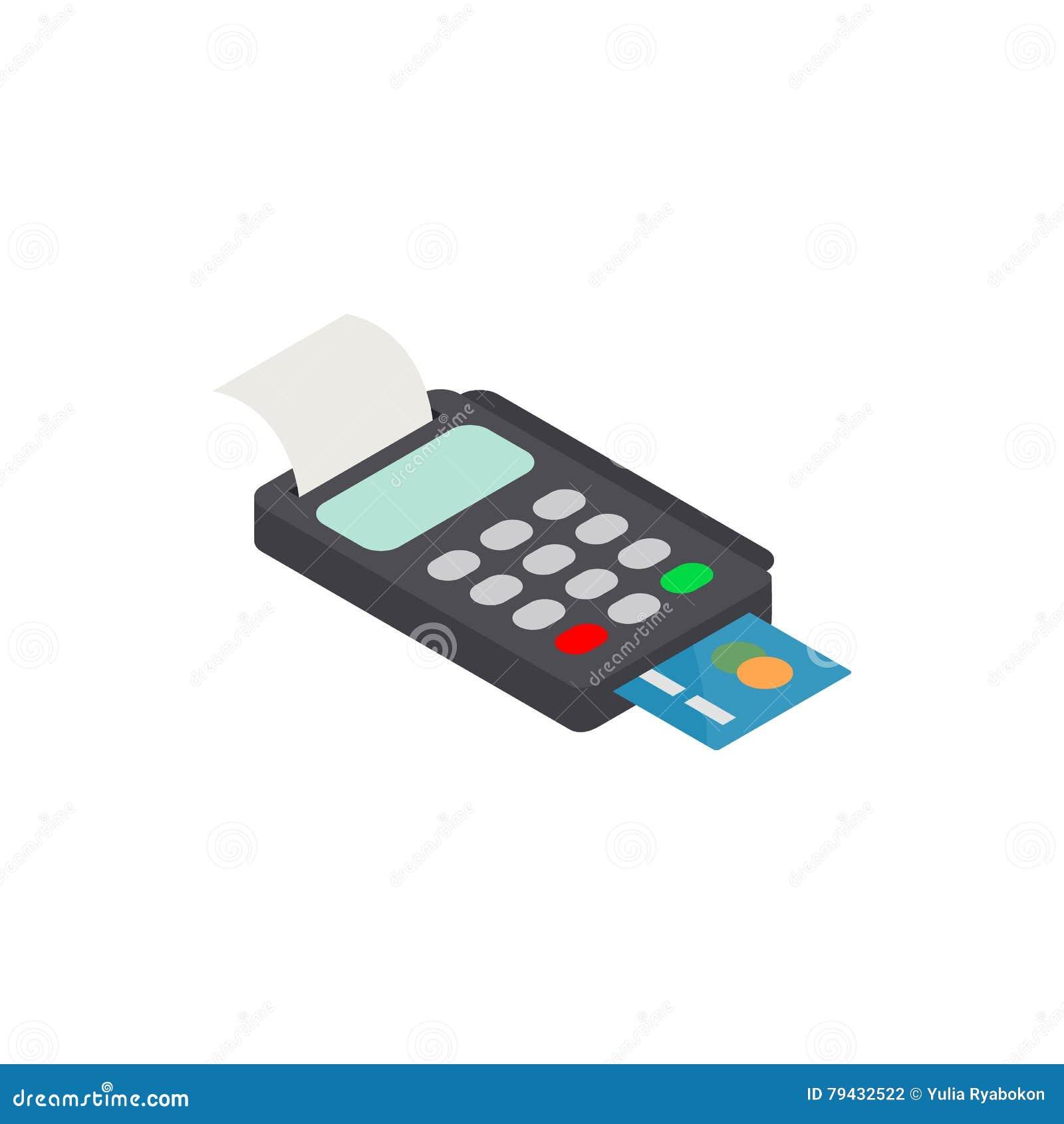 POS Terminal met Creditcardpictogram