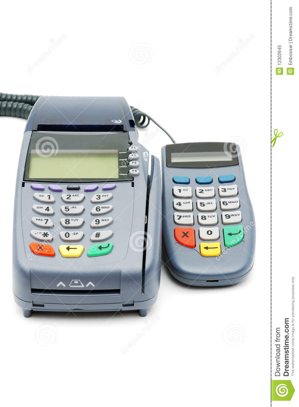 Pos terminal with pin pad stock image image of reverse 12302645 download comp publicscrutiny Gallery