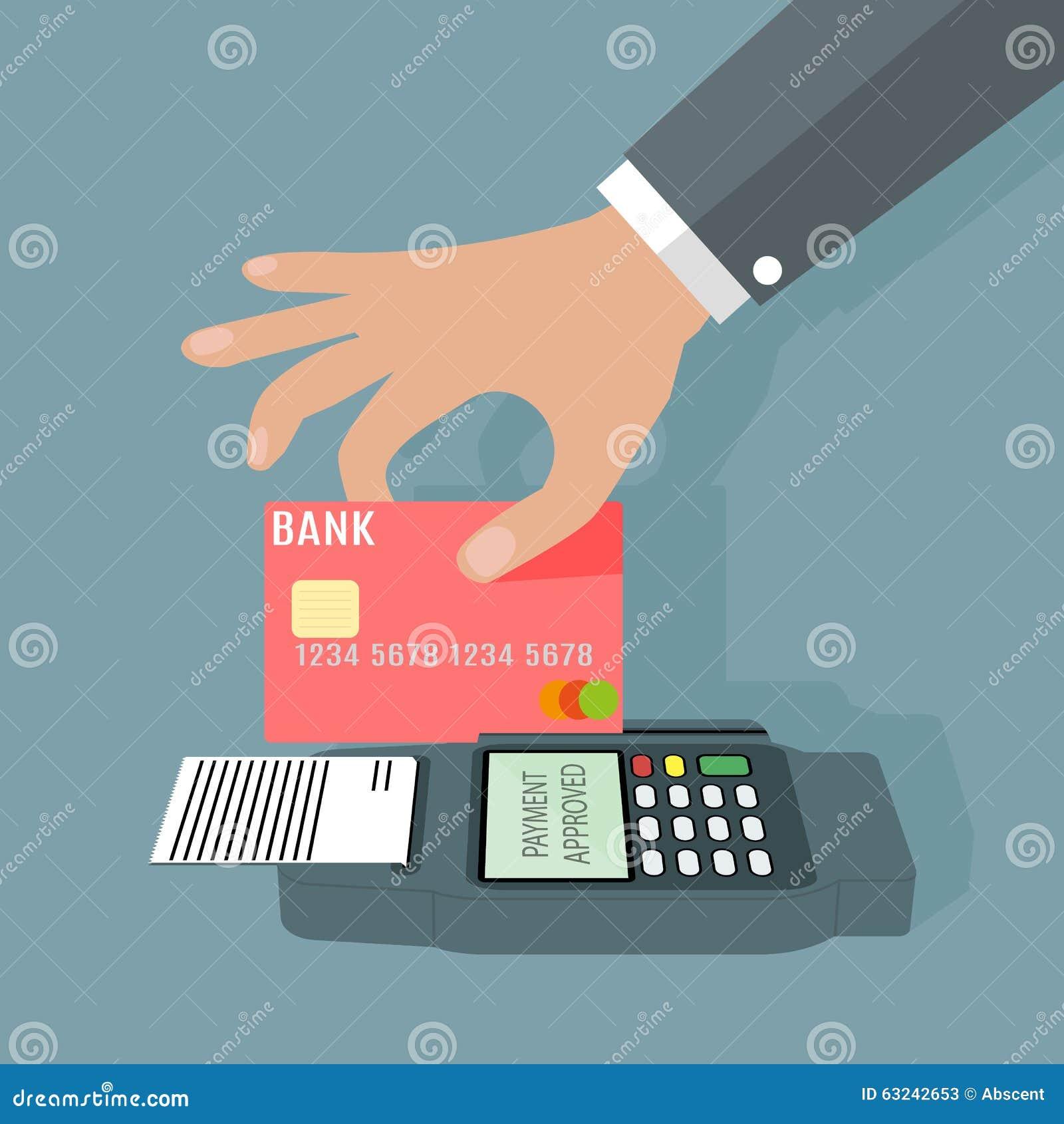 transaction terminal pos Transaction with pos terminal.