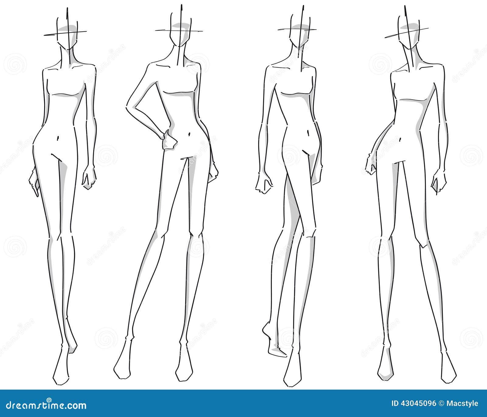 Super Figurini Di Moda Stilizzati JL46 » Regardsdefemmes YY31