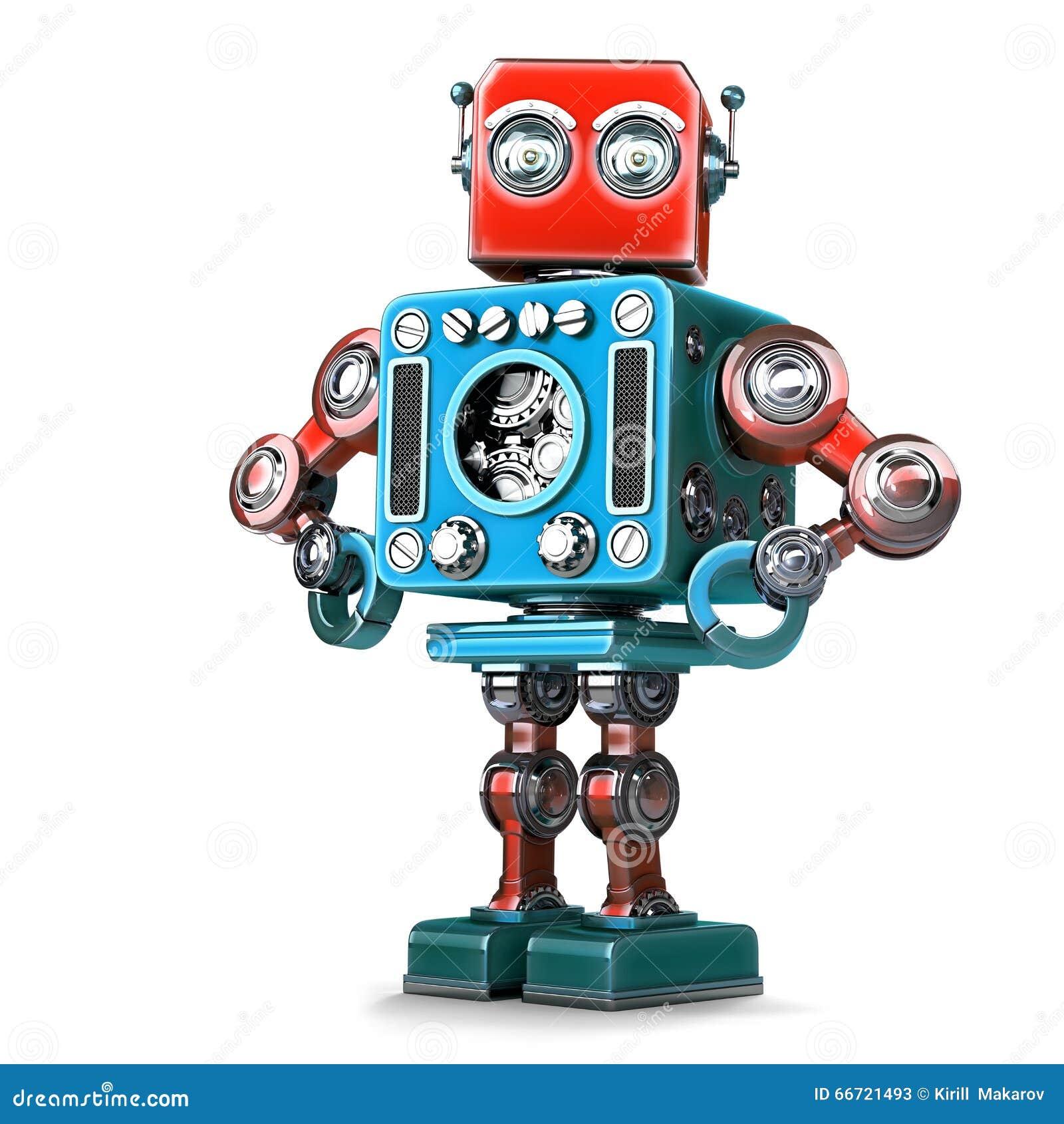 Pose du rétro robot Contient le chemin de coupure