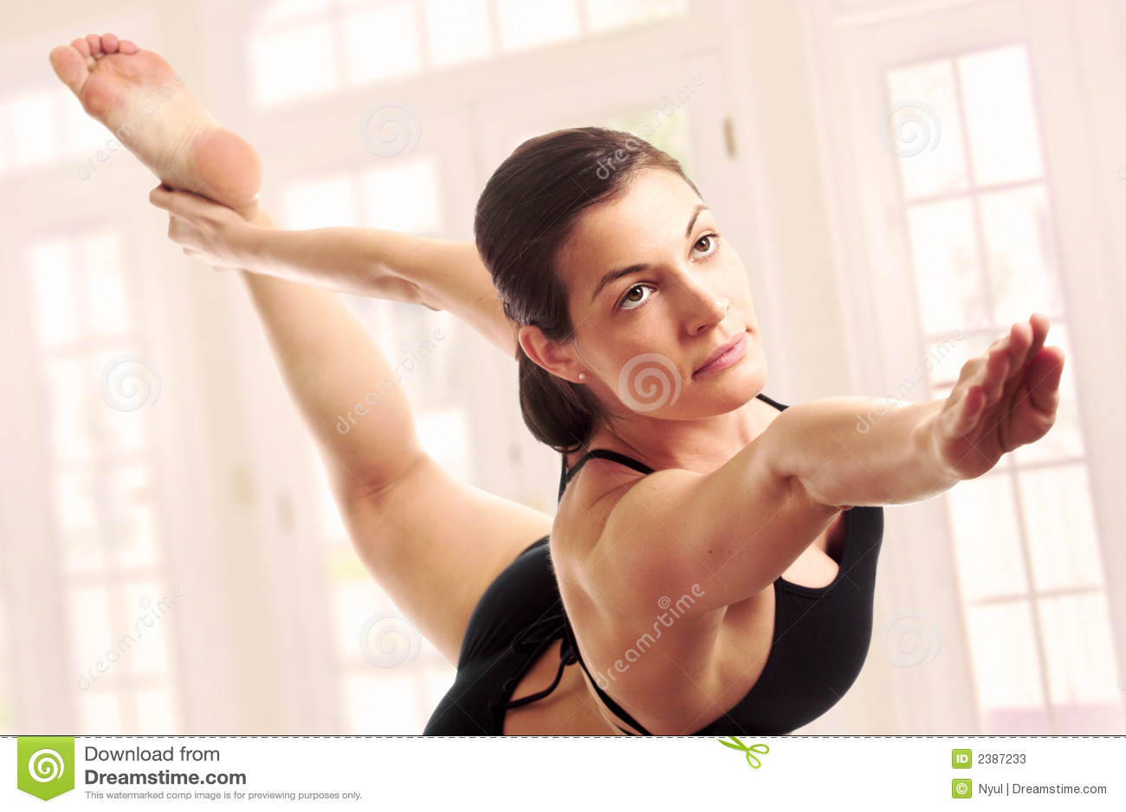 Pose experte de yoga