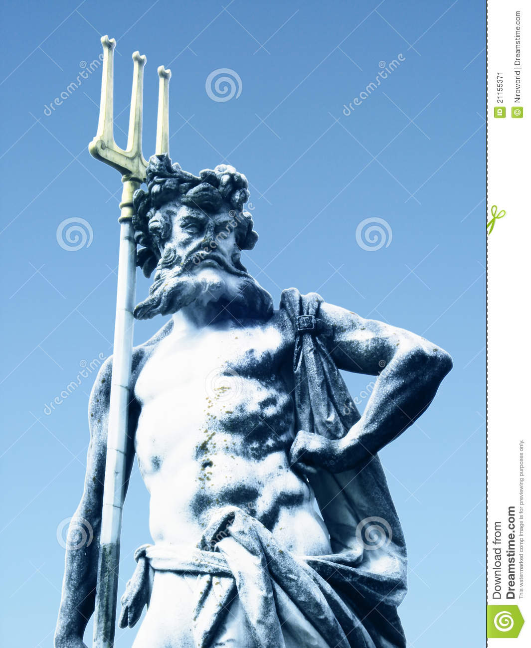 Greek God Symbols Poseidon Poseidon sculpture