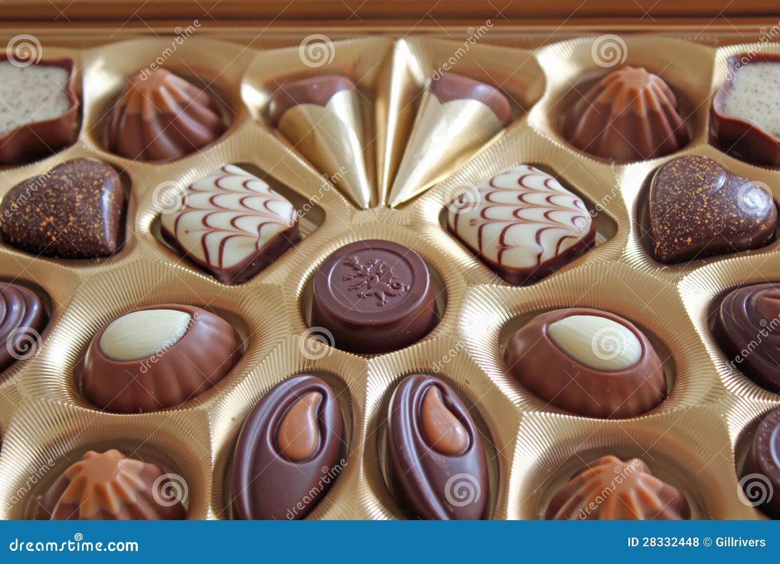 Posh Chocolates Royalty Free Stock Photos - Image: 28332448
