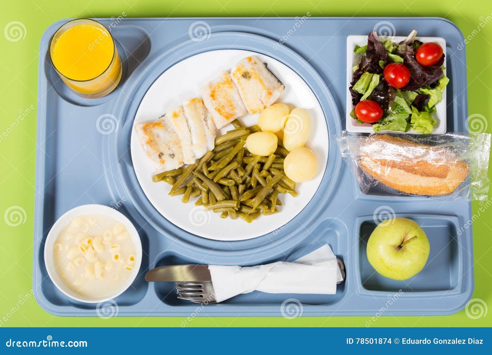 Posiłek taca szpital
