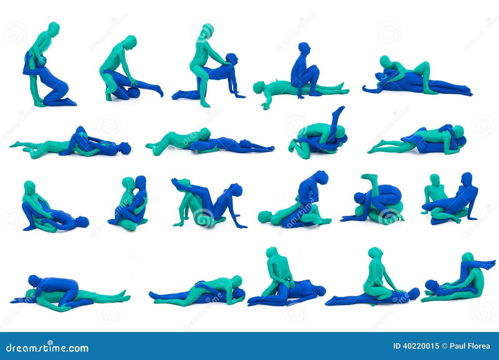 Posición del sexo stock de ilustración. Ilustración de