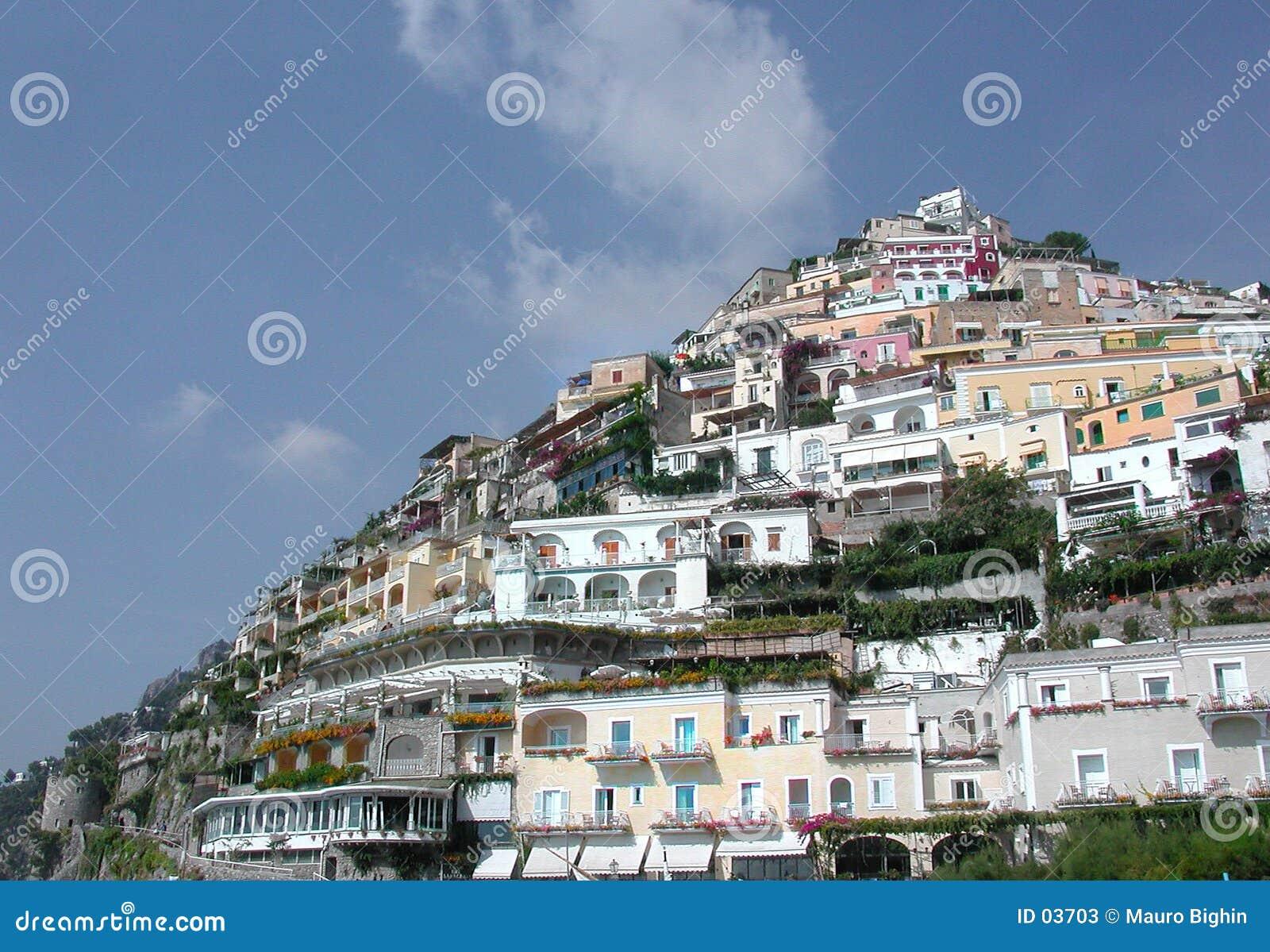 Positano Италии naples