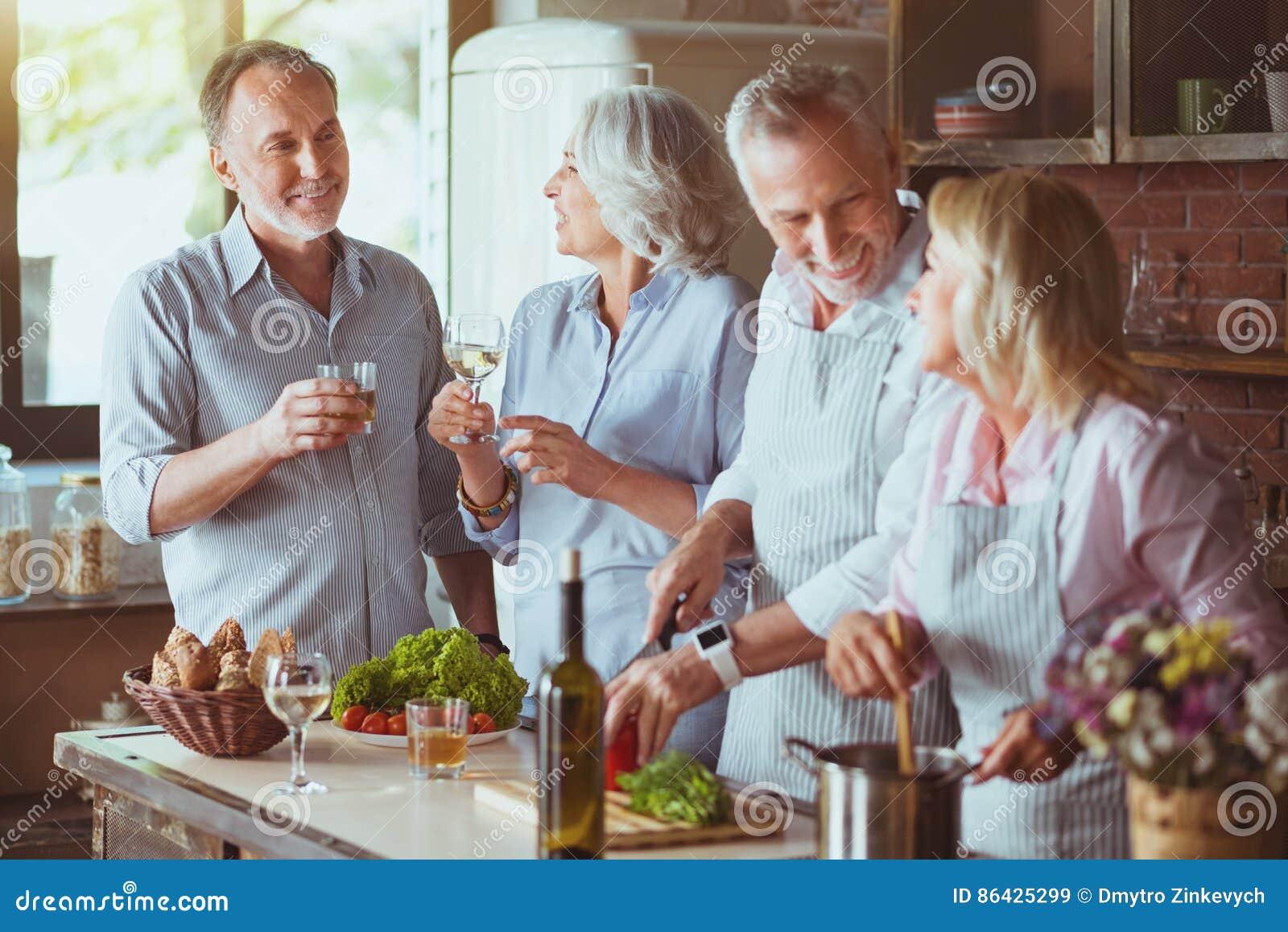 koken met vrienden