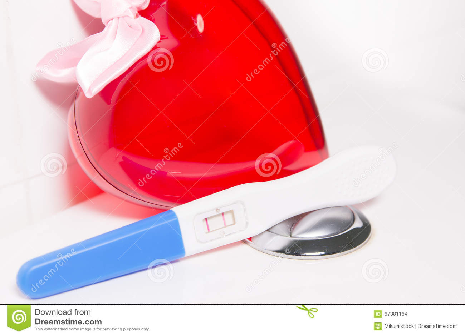 Positieve zwangerschapstest en hart