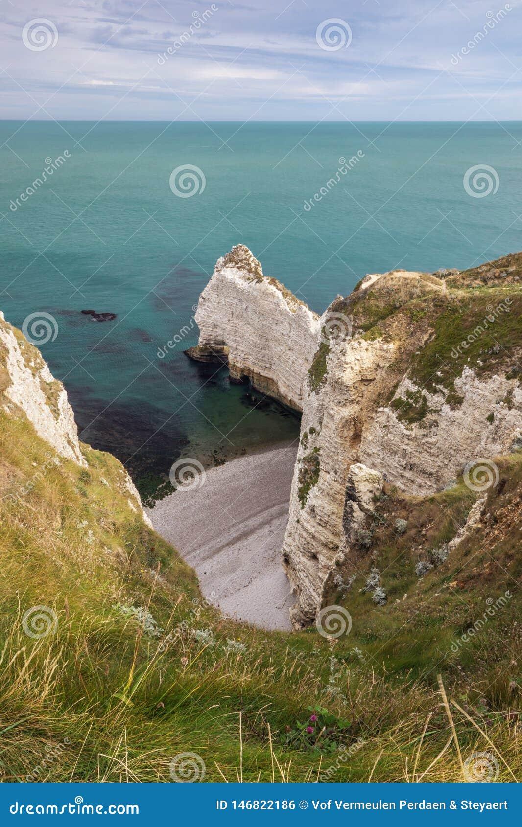 """Position au-dessus amont du falaise du d """""""