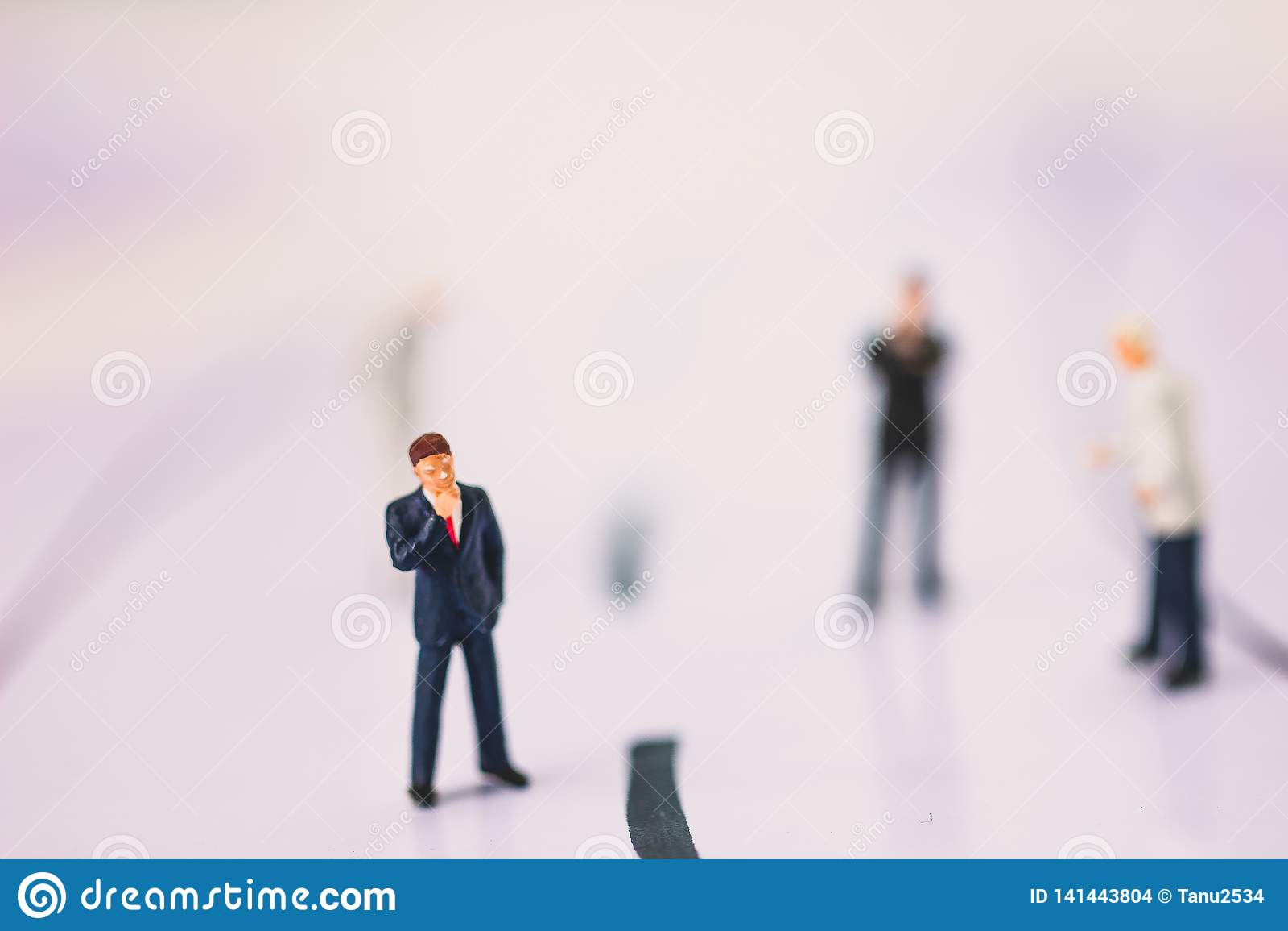 Position d homme d affaires sur la branche d activité