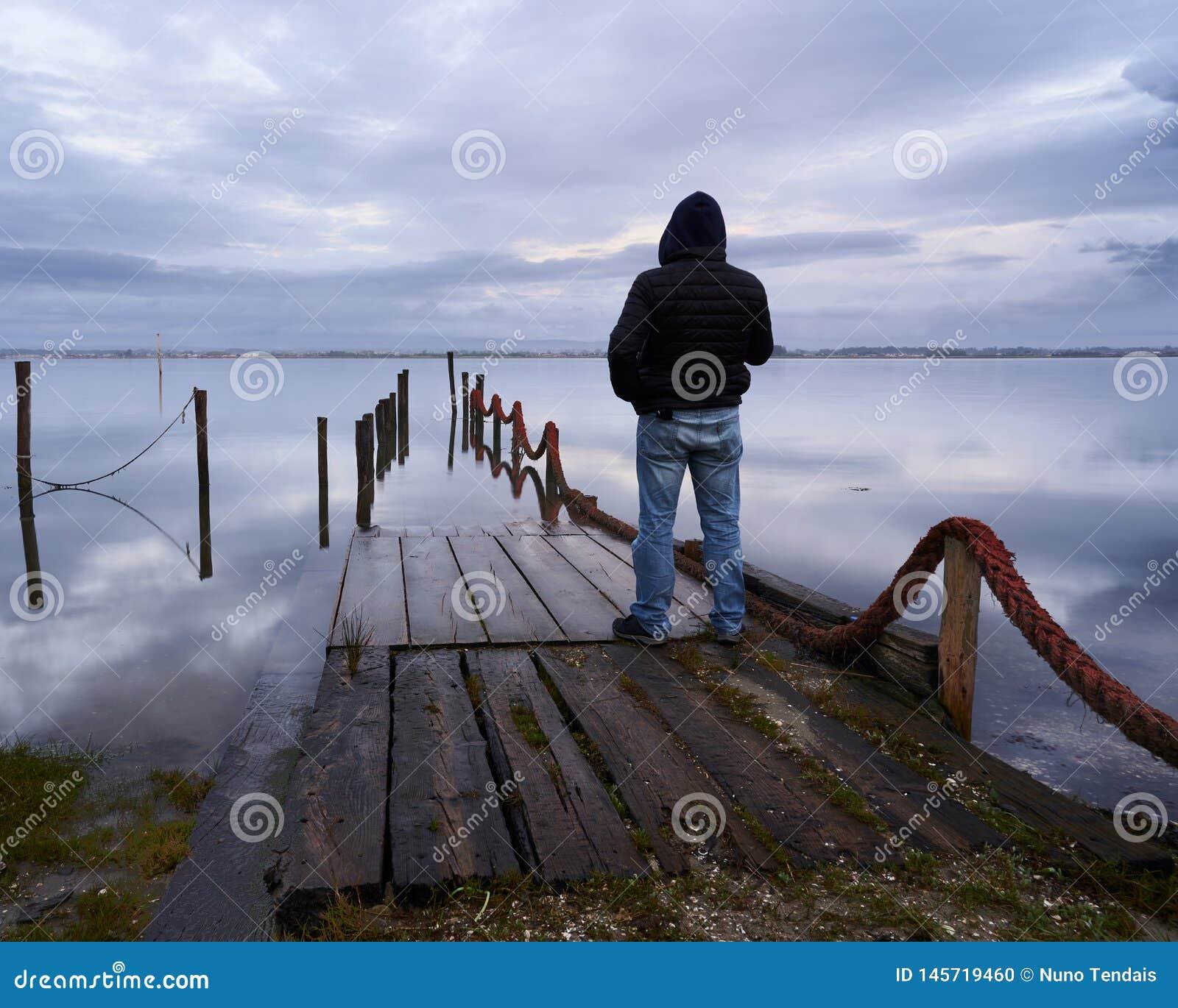 Position d homme au dock