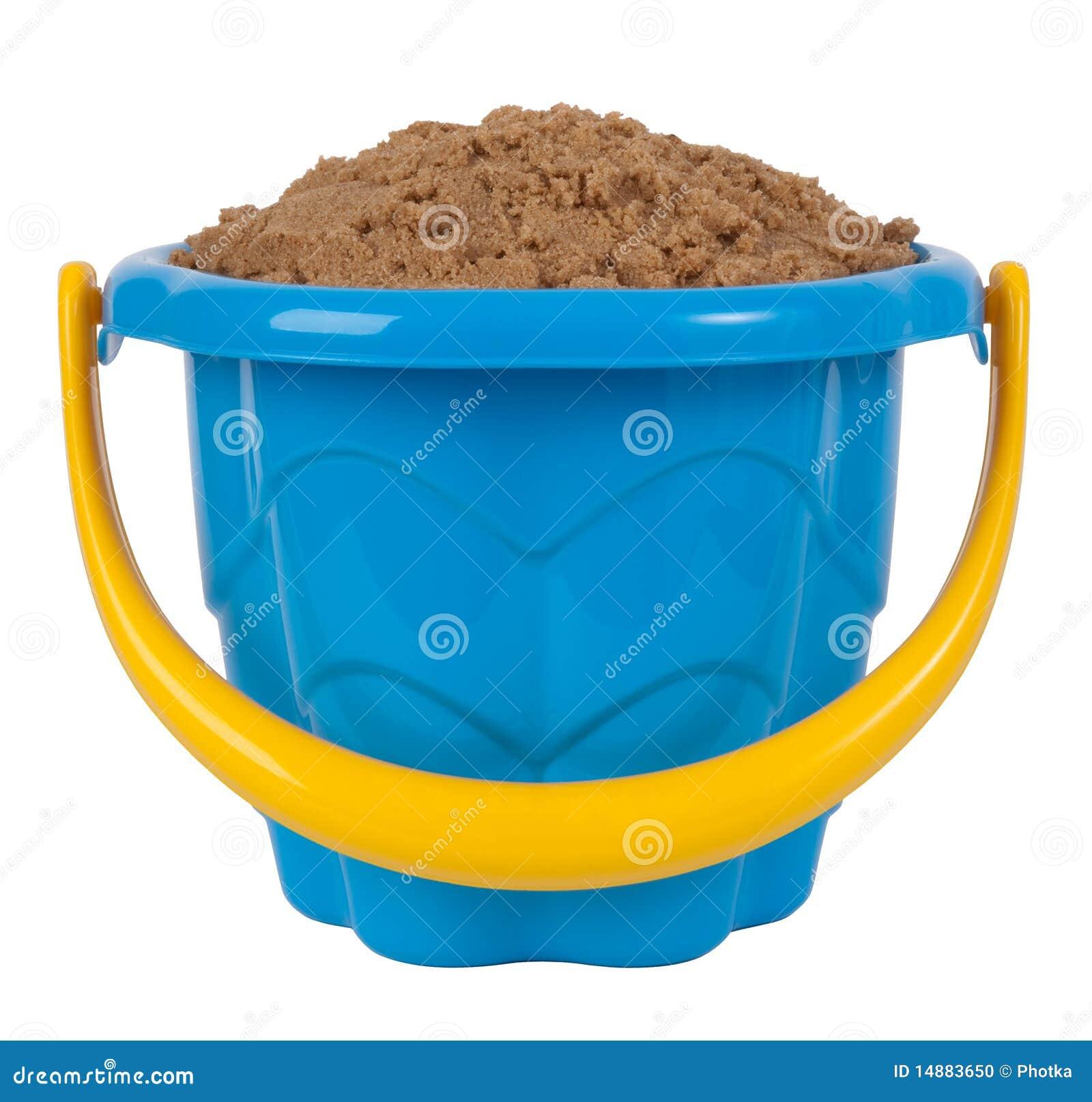 Position de jouet avec le sable