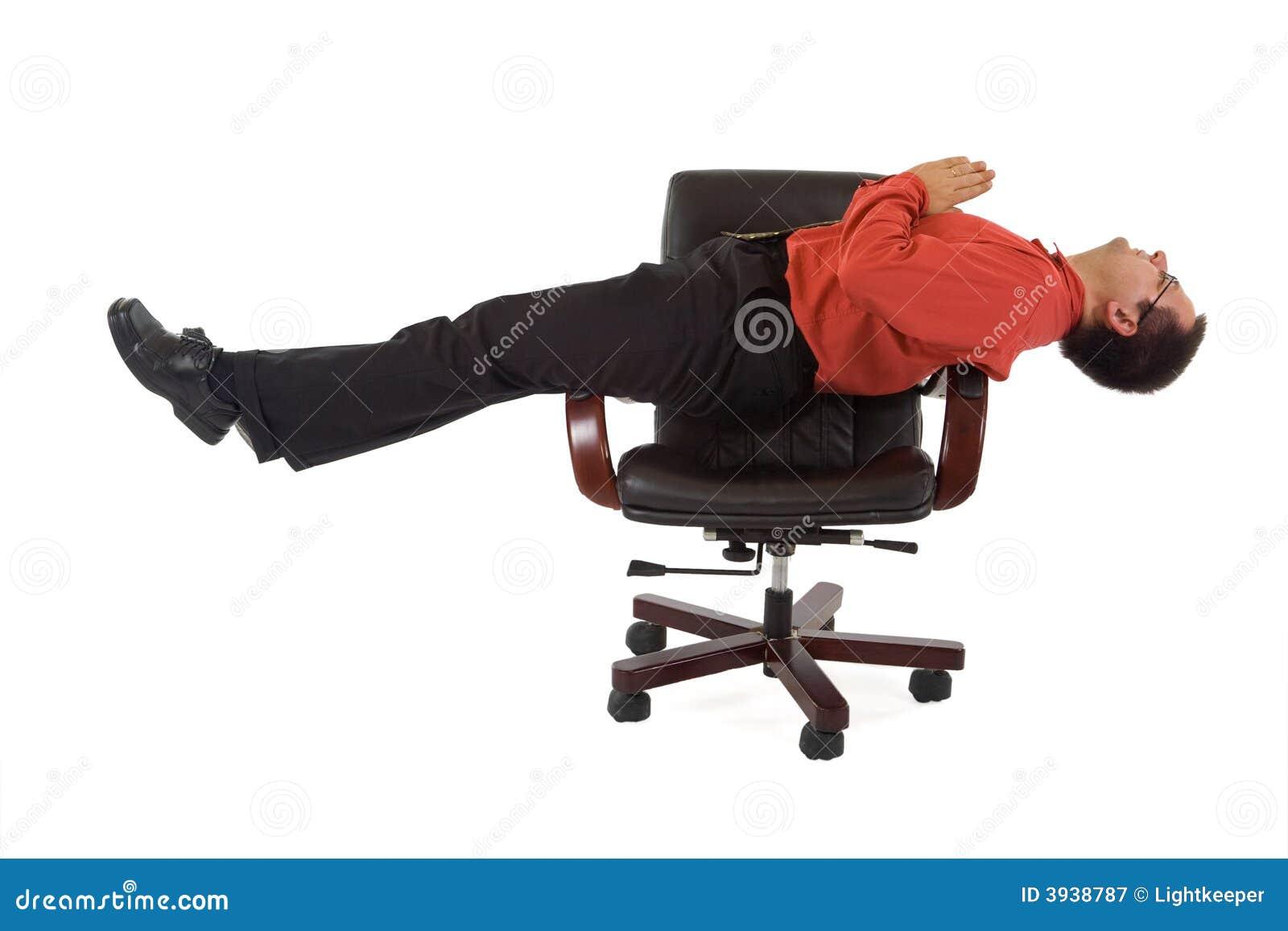 position de yoga de relaxation de bureau photographie. Black Bedroom Furniture Sets. Home Design Ideas