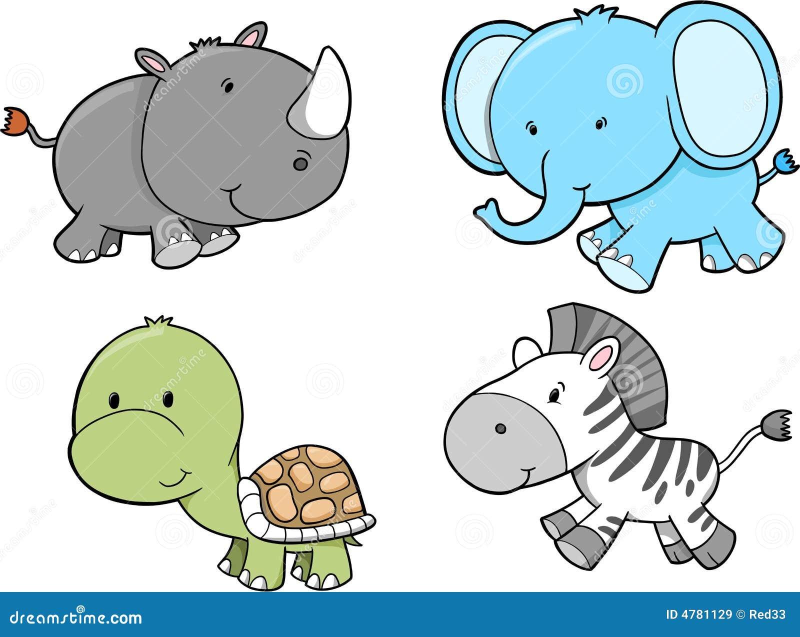 Positionnement d animal de safari