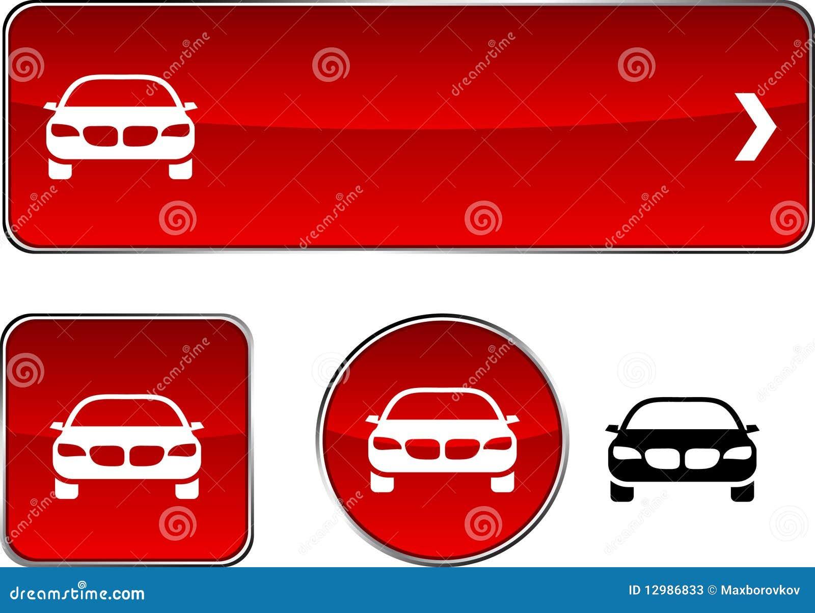 Positionnement de bouton de véhicule.