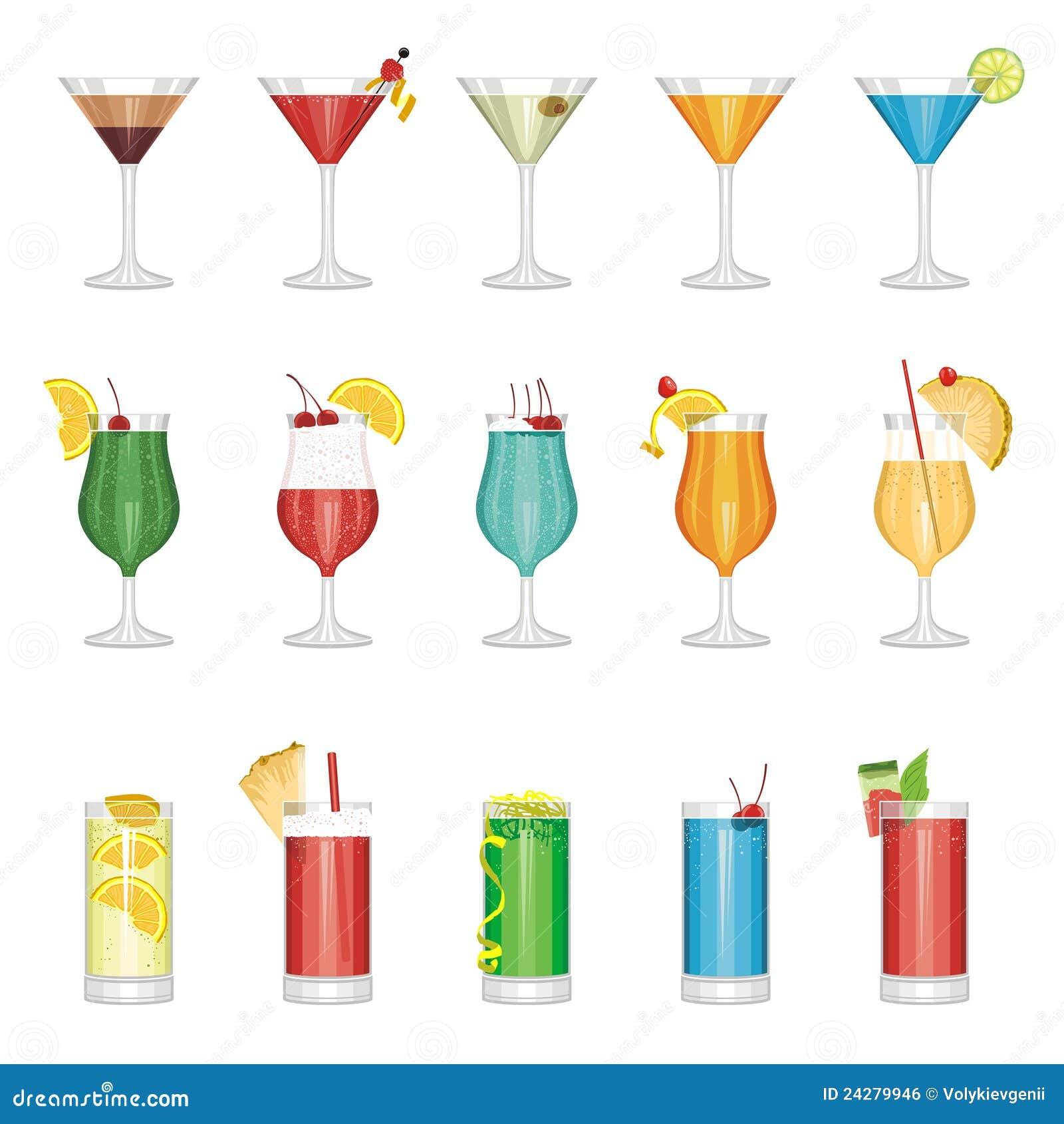 Positionnement de cocktail