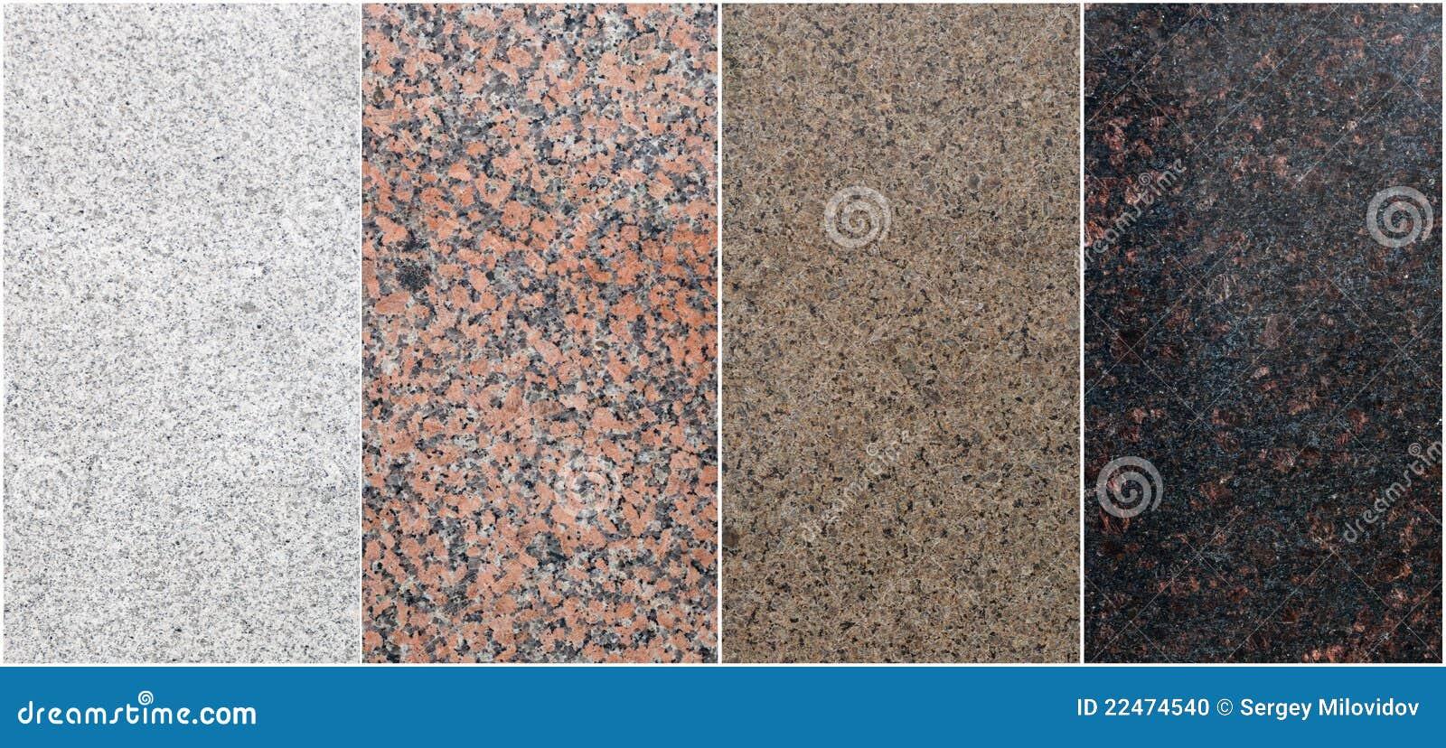Positionnement de granit