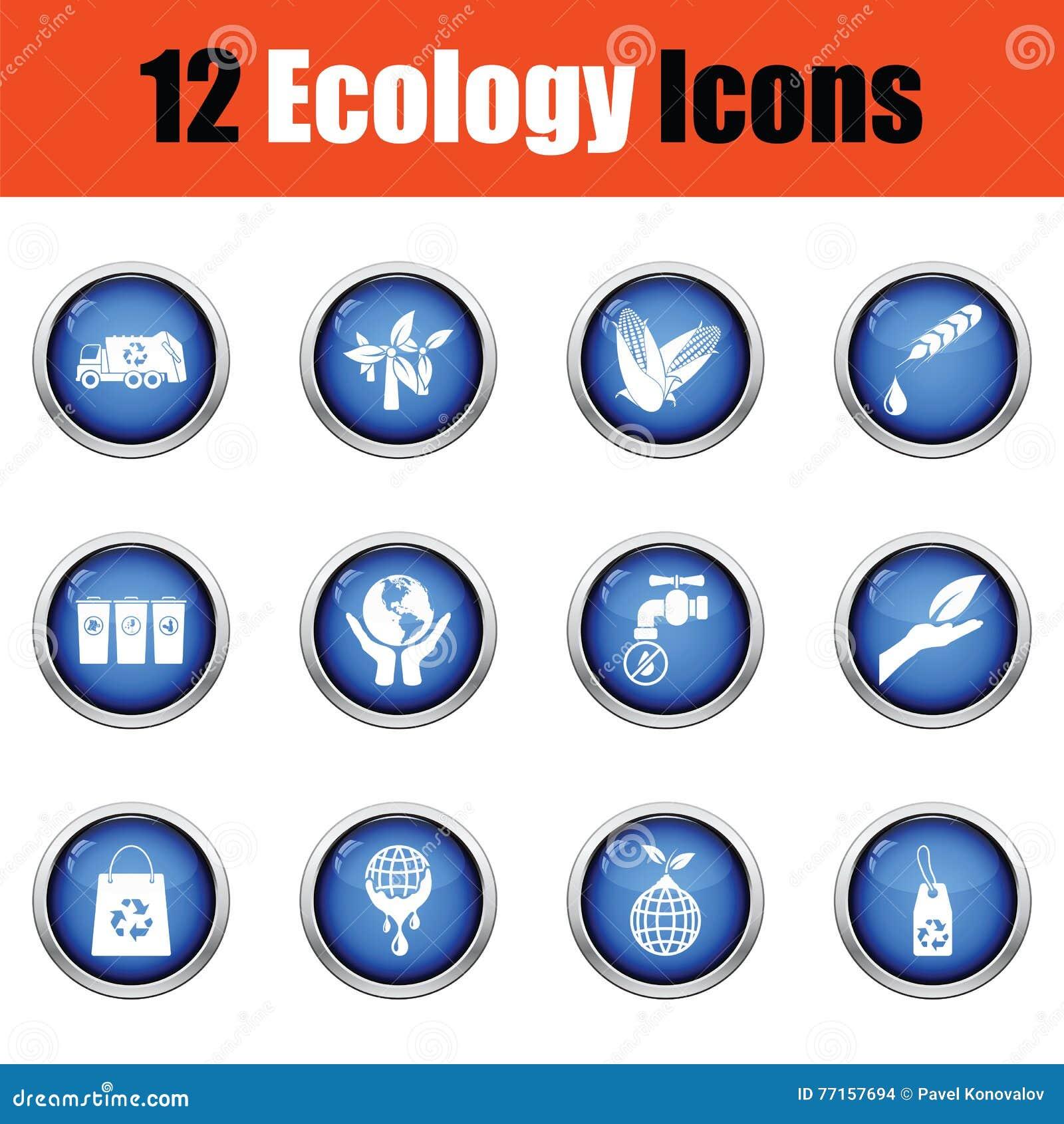 Positionnement de graphisme d écologie