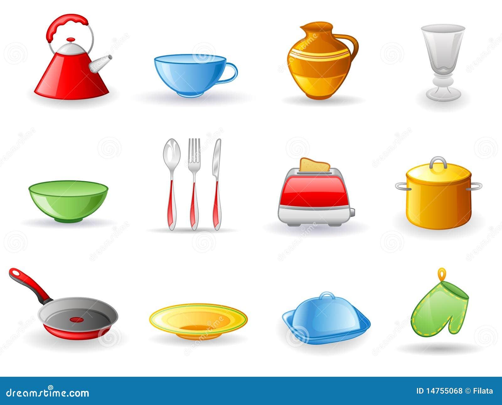 Positionnement de graphisme d 39 ustensile de cuisine photos for Cuisine ustensile