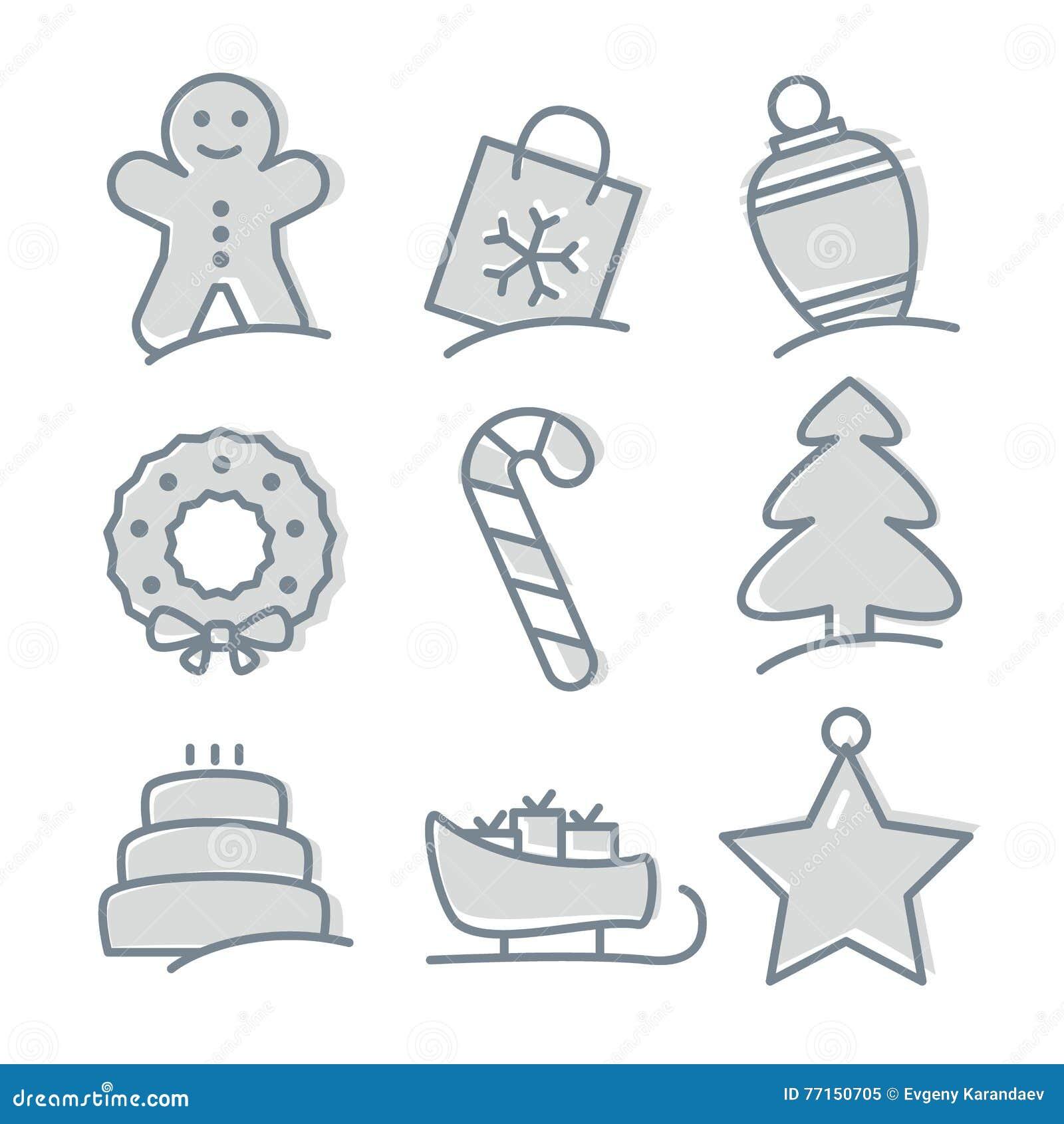 Positionnement de graphisme de Noël