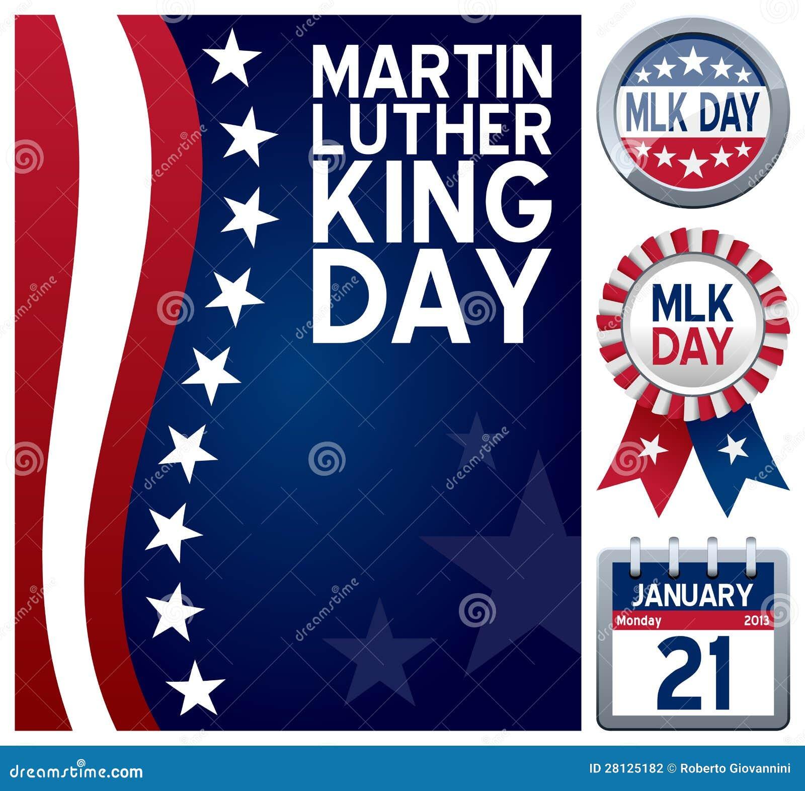 Positionnement de jour de Martin Luther King