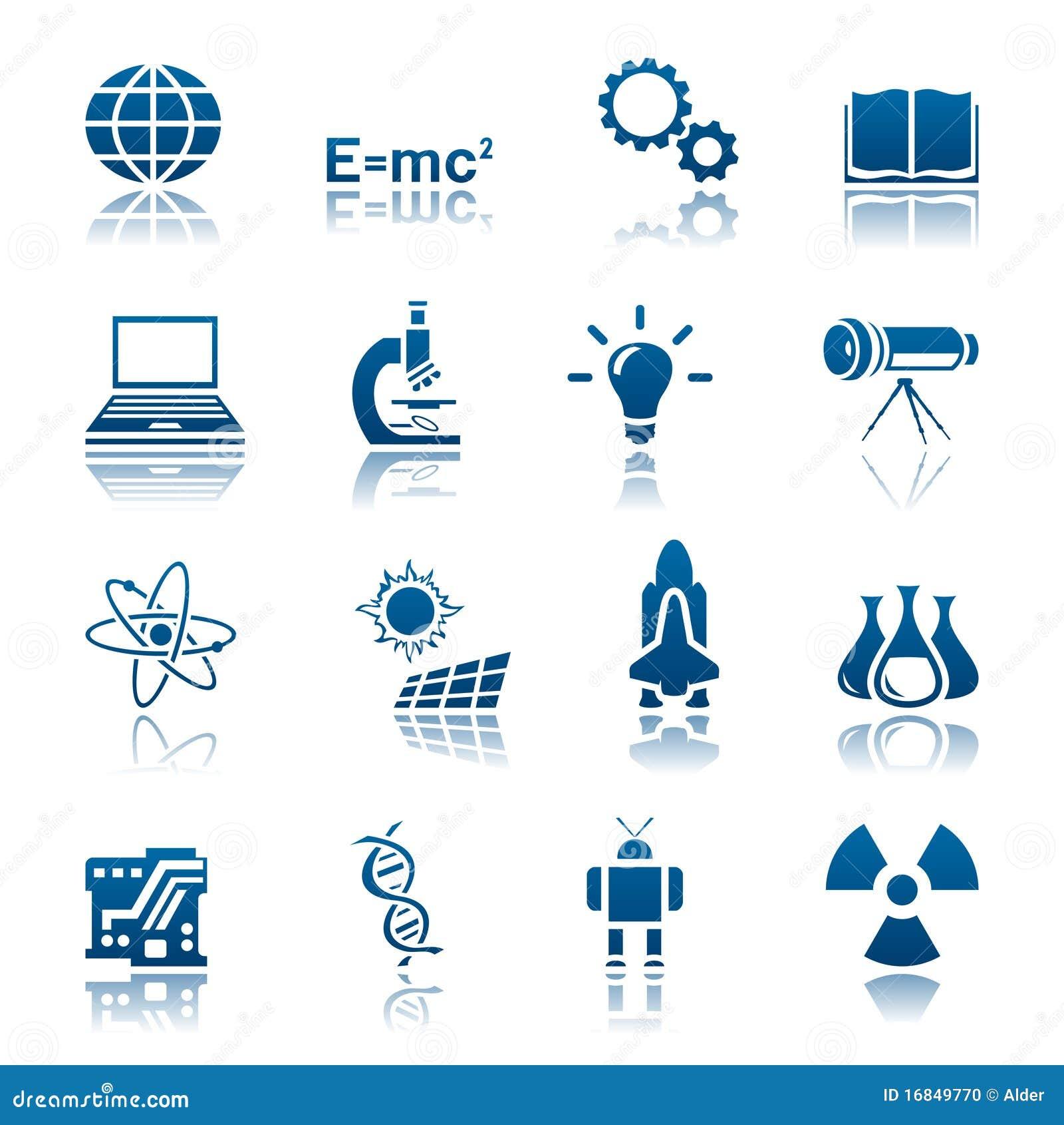 Positionnement de la Science et de graphisme de technologie