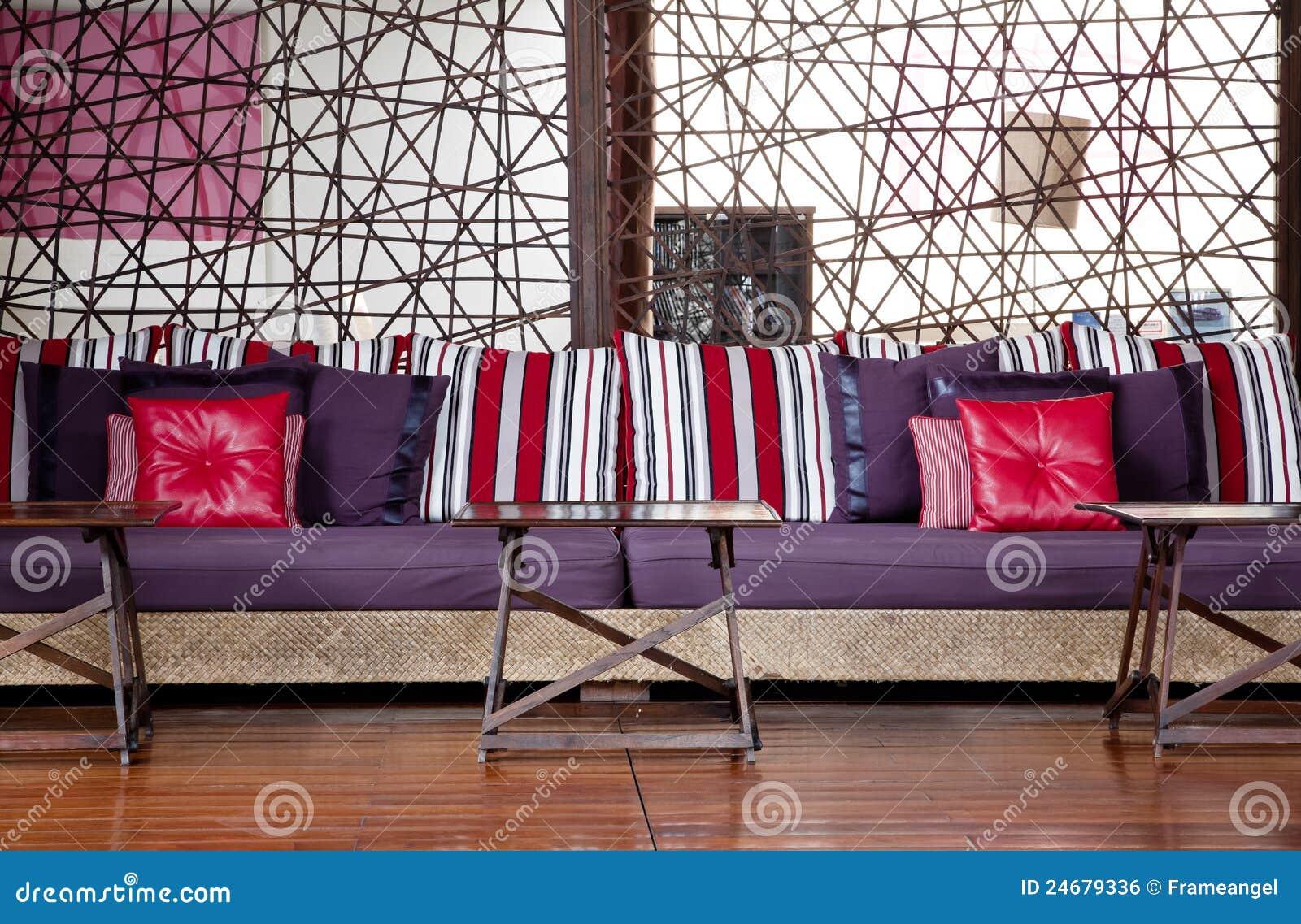 Positionnement de meubles de salle de séjour