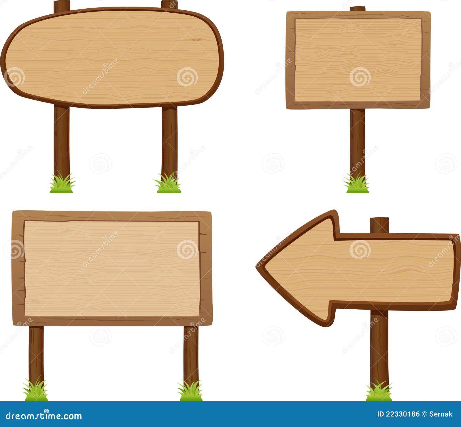 Positionnement En Bois De Panneau Indicateur Image libre de droits Image 22330186 # Panneau Indicateur Bois