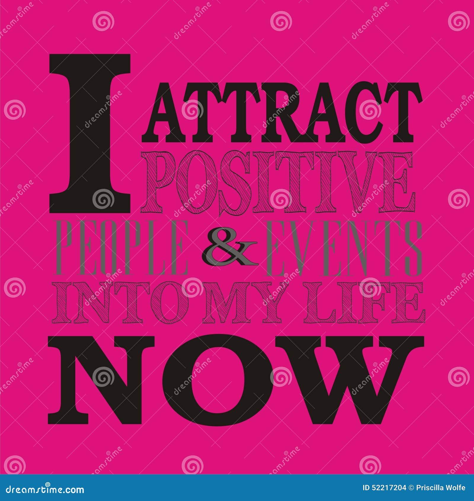 Positive Affirmation Stock Illustration Illustration Of