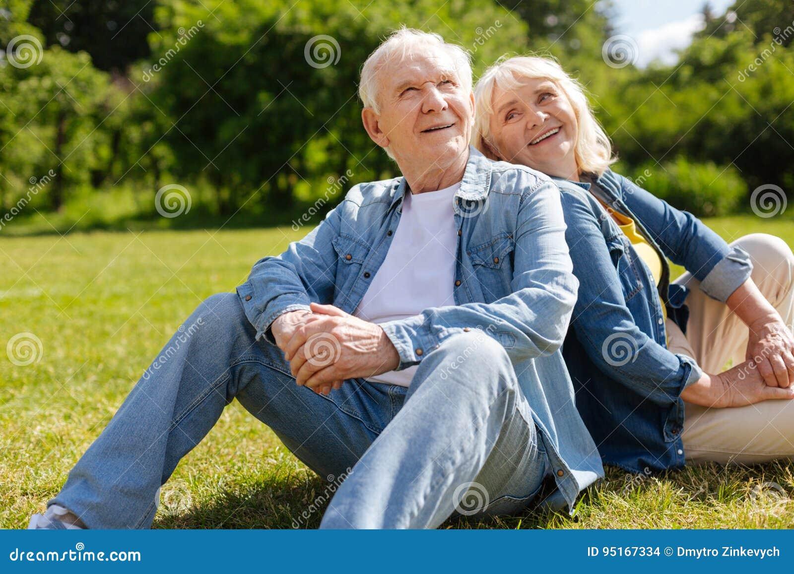 Mature women looking at men