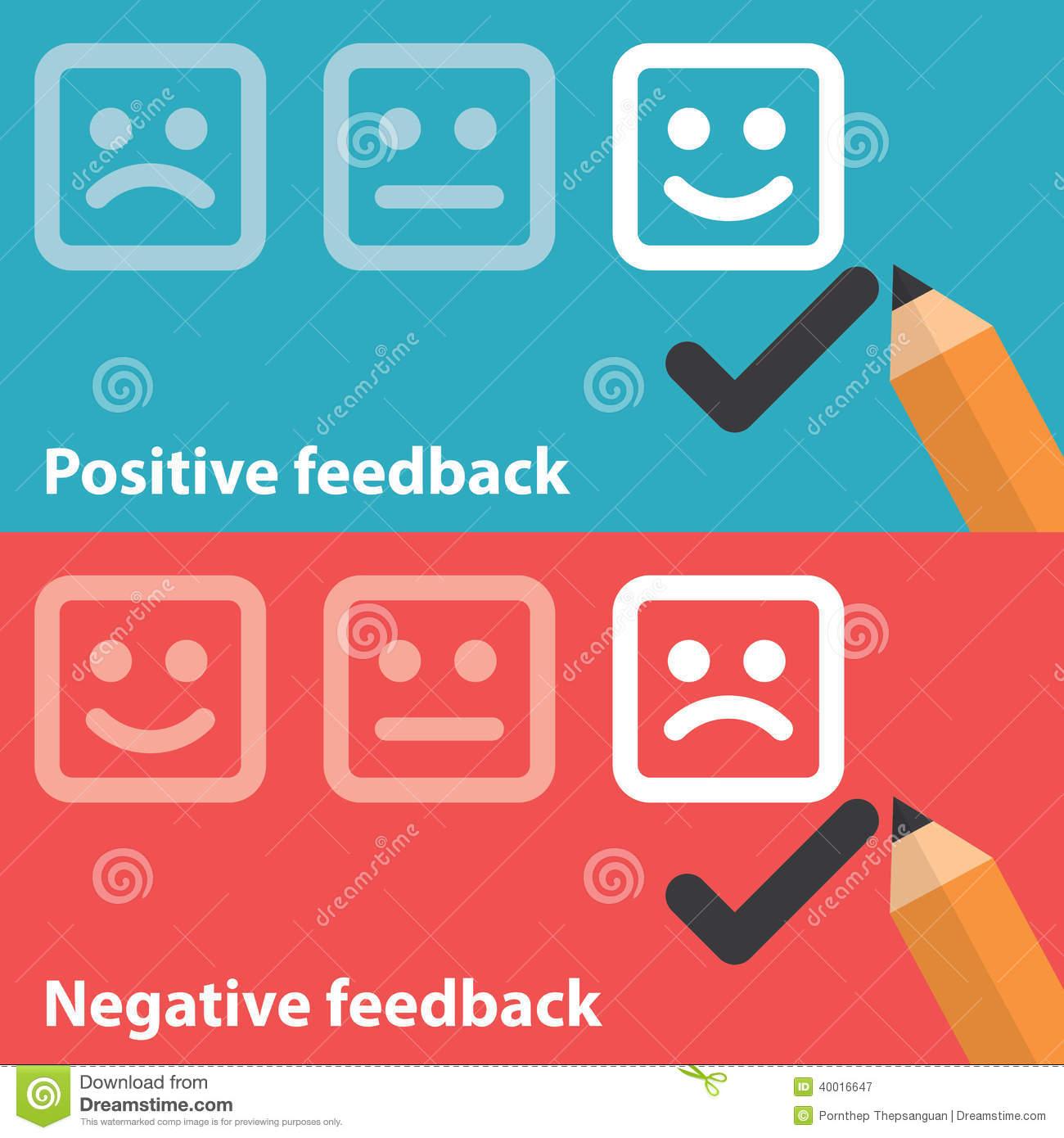 how to take positive feedback