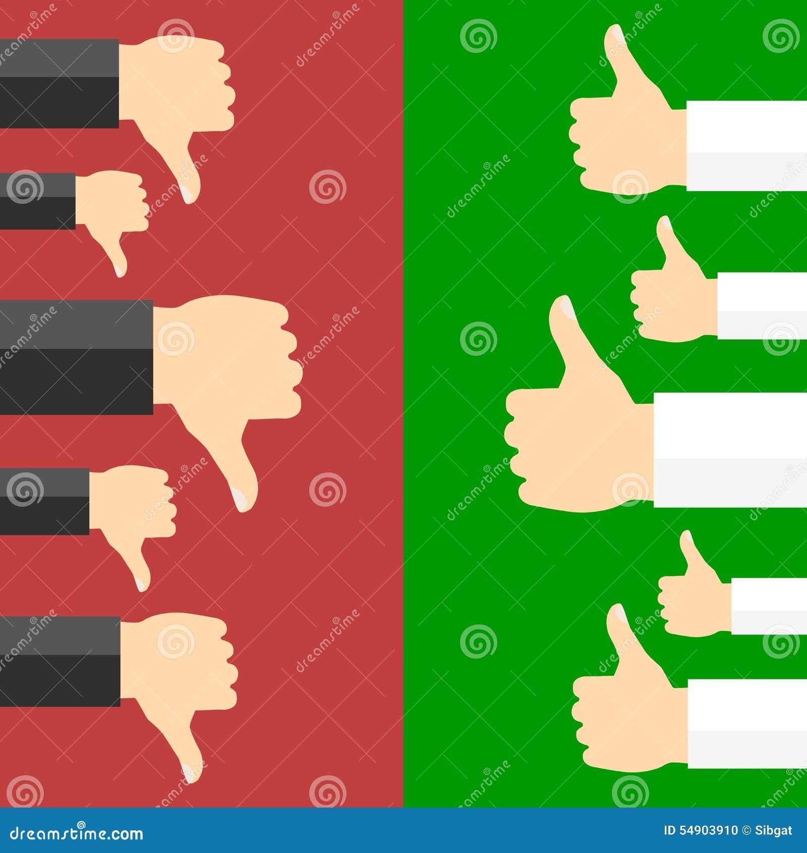 Positivo y concepto del voto negativo