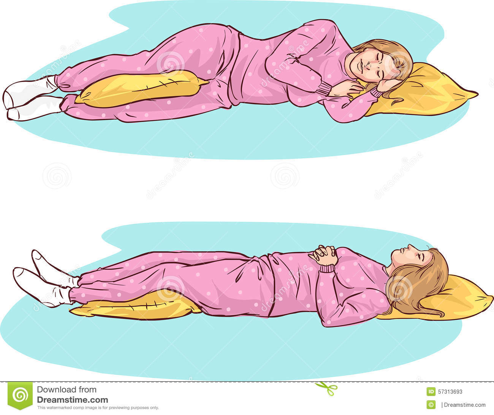 Posizioni di sonno