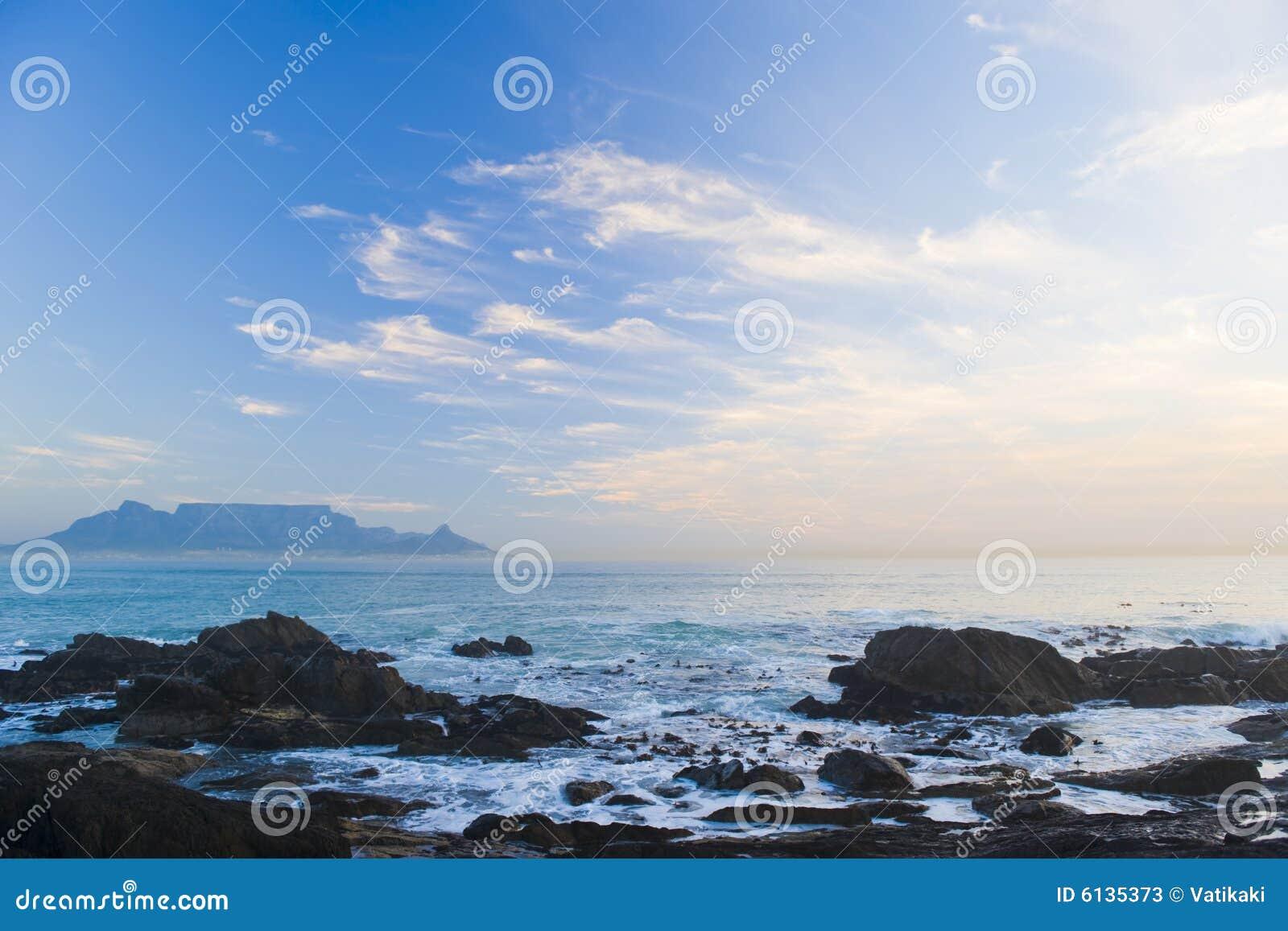 Posponga la montagna Città del Capo
