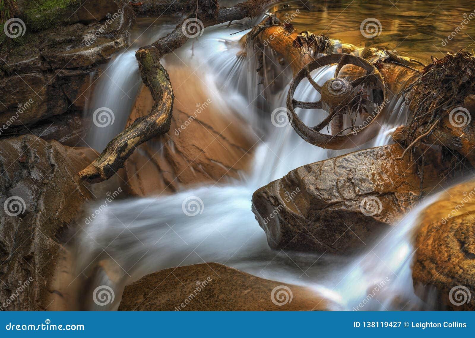 Coal Mining Wagon Wheel