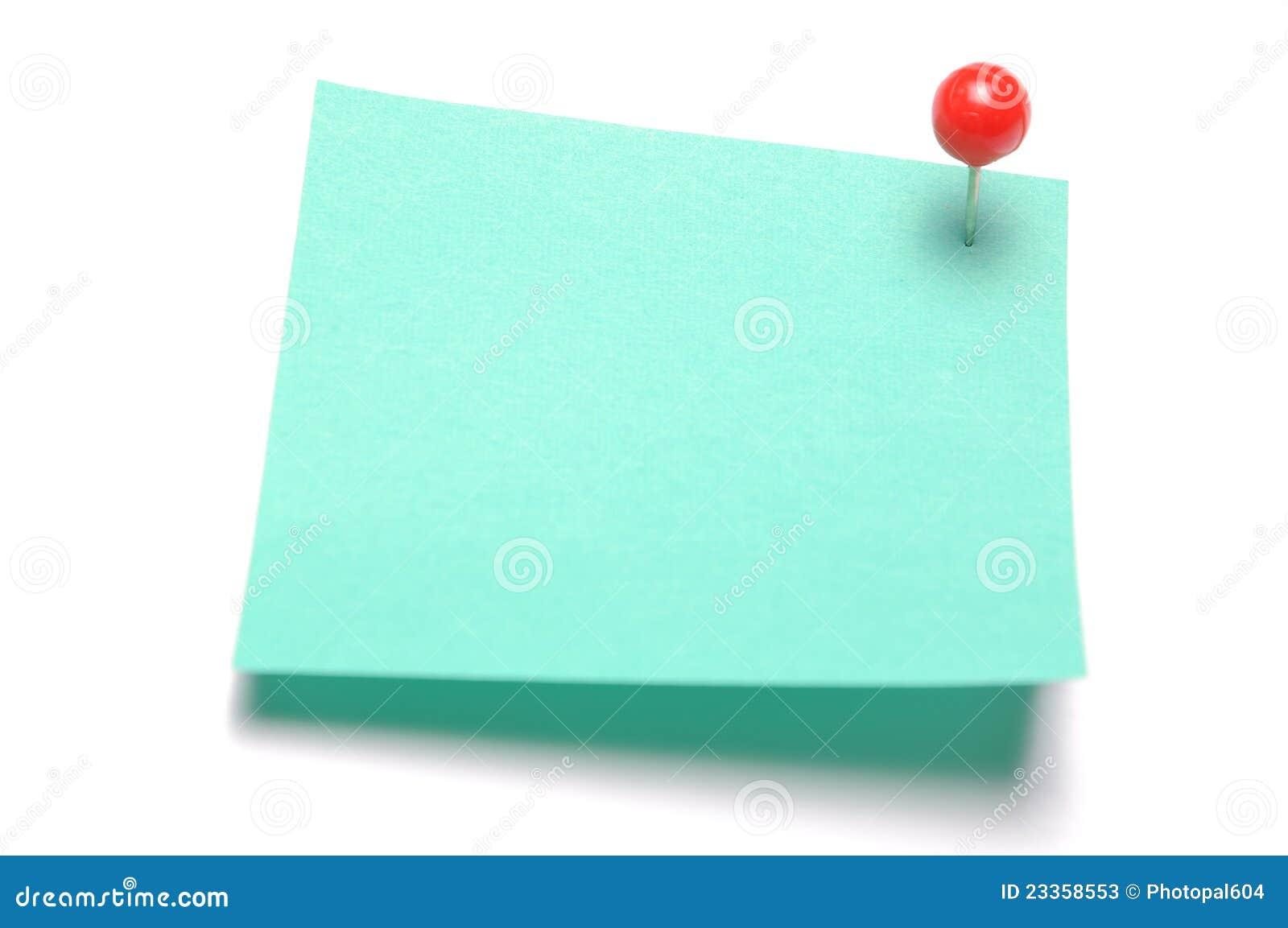 stick notes