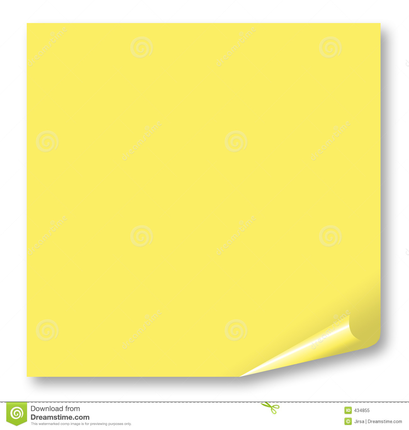 Post: Post-It Stock Illustration. Illustration Of Noticeboard