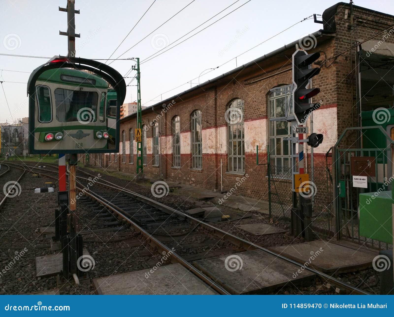 Post HÃ ‰ V in Boedapest, Hongarije