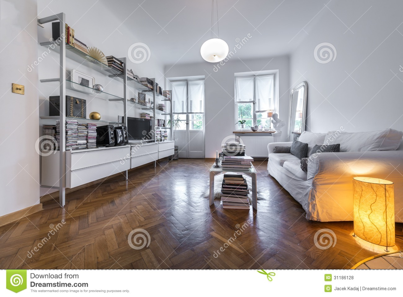 Post modern interior design interior stock photo image Contemporary classic interior design