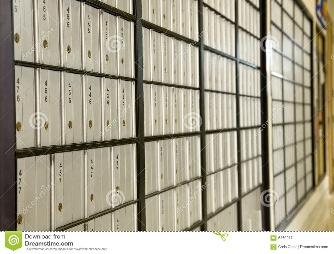 Download Post Office Boxes stock image. Image of receive, rural - 6460217