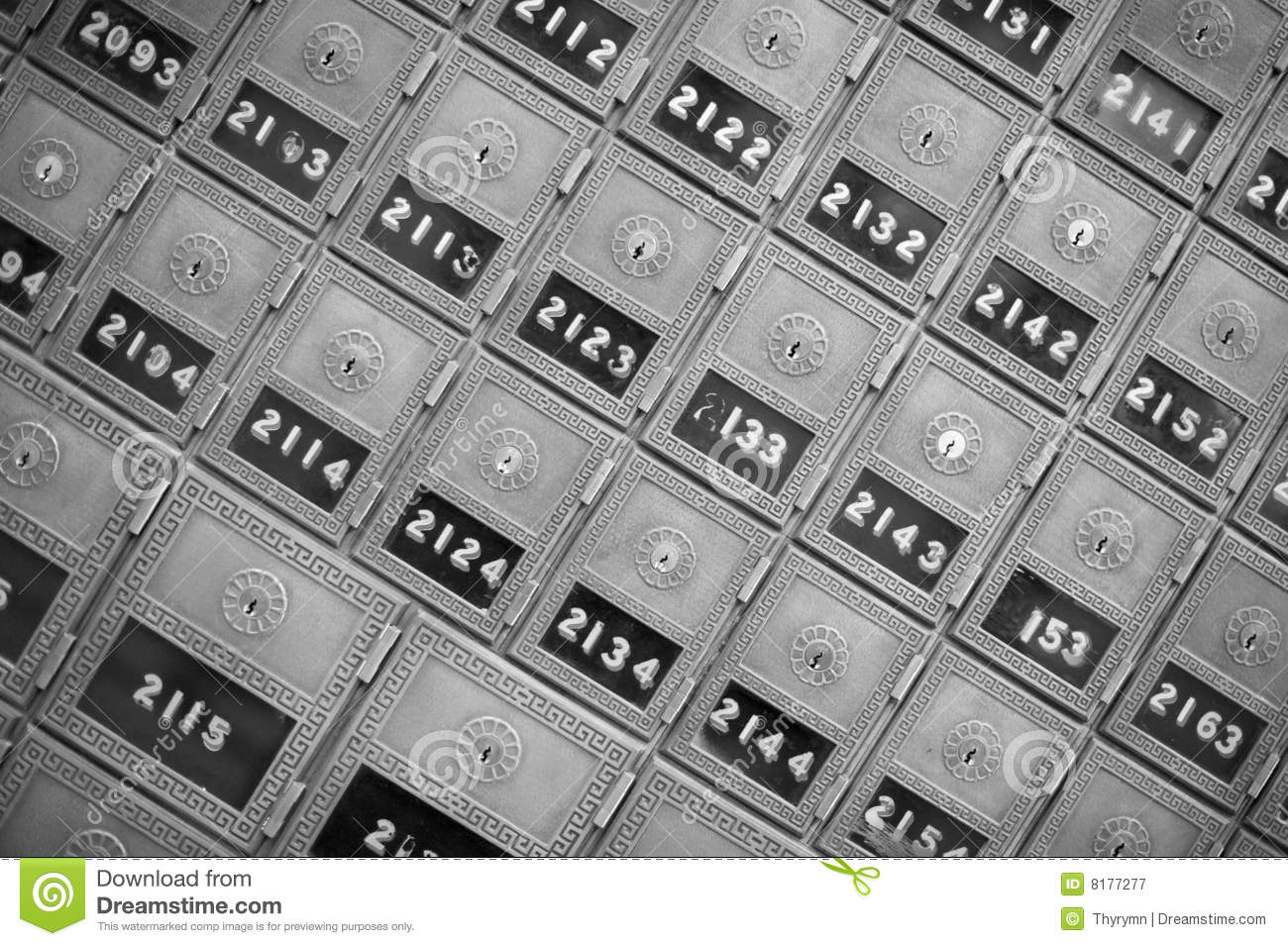 Download Post Office Boxes stock image. Image of order, governmental - 8177277