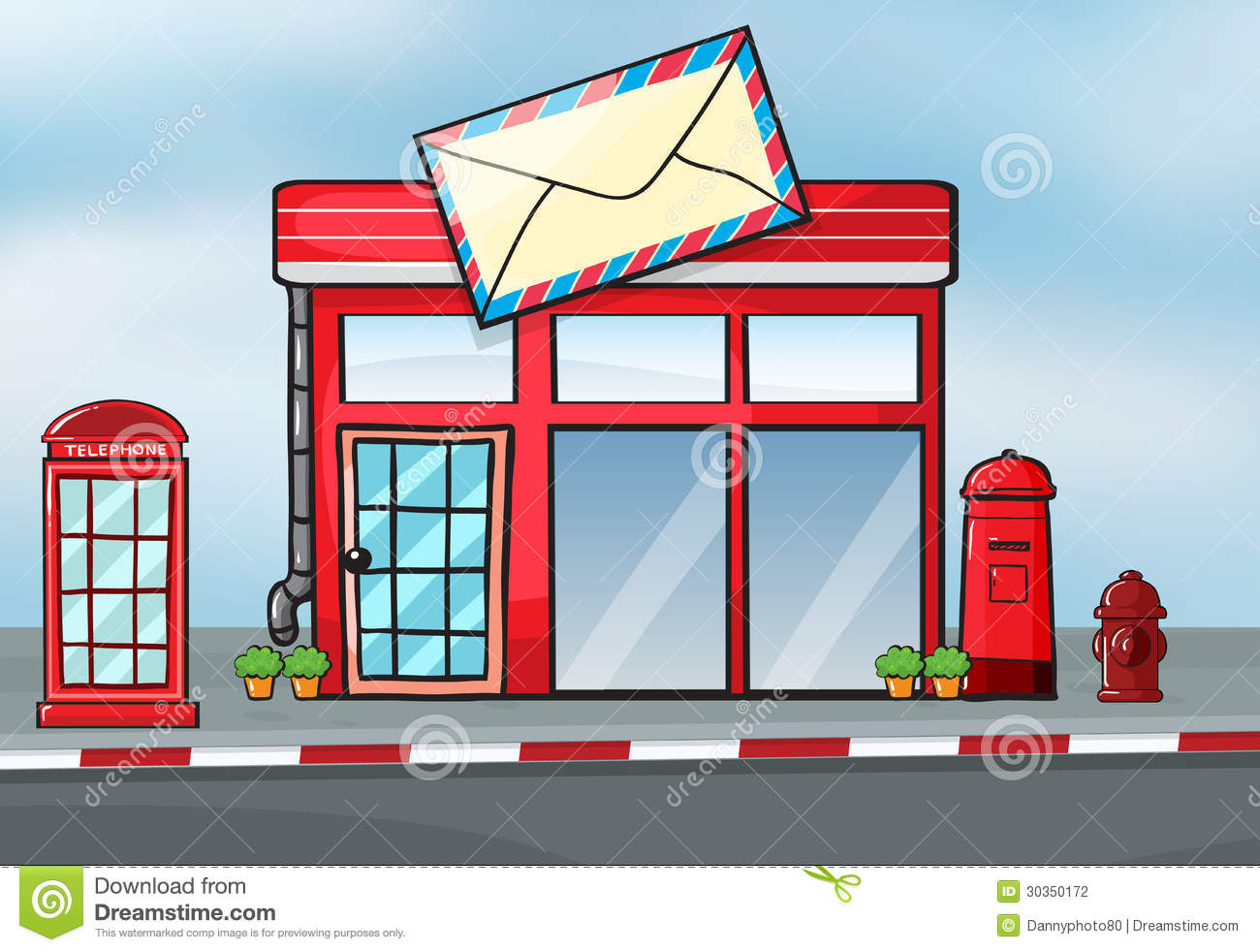Post Office Stock Photography - Image: 30350172